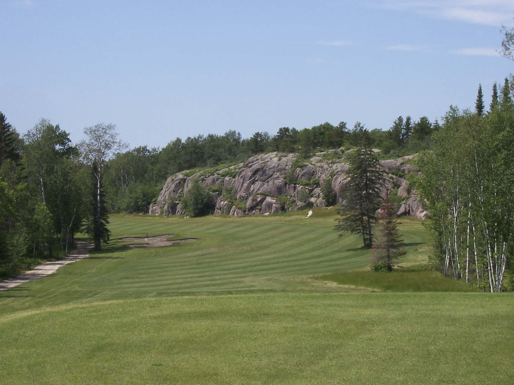 """""""It's (Granite Hills) a really tough course the first time you play it,"""" says Landon Cameron. (Supplied photo)"""