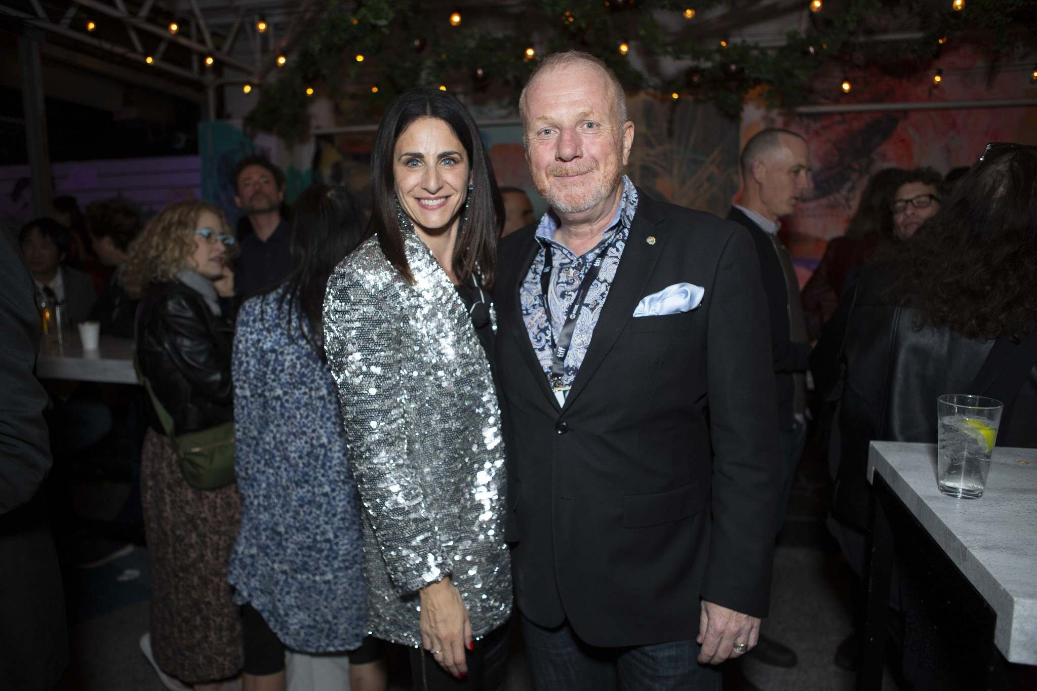 Manitoba Film and Music CEO Rachel Rusen Margolis and Kenny Boyce, manager of film and special events for the City of Winnipeg. (David Spowart photo)