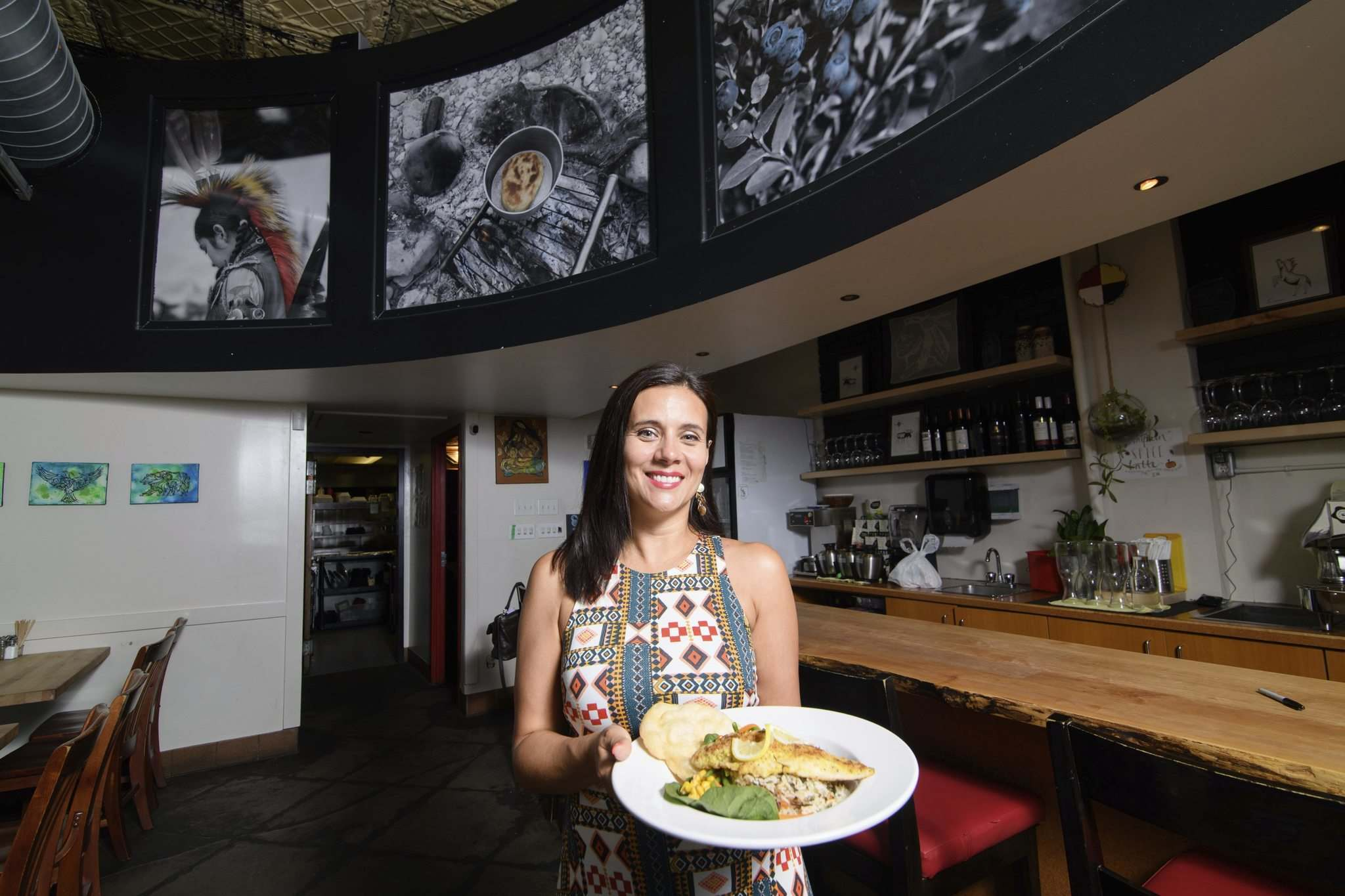 Mike Sudoma / Winnipeg Free Press files</p><p>Christa Bruneau-Guenther, owner of Feast Café Bistro, will be able to hire about five more employees thanks to federal funding coming her way. She says staff is her biggest expense.</p></p>