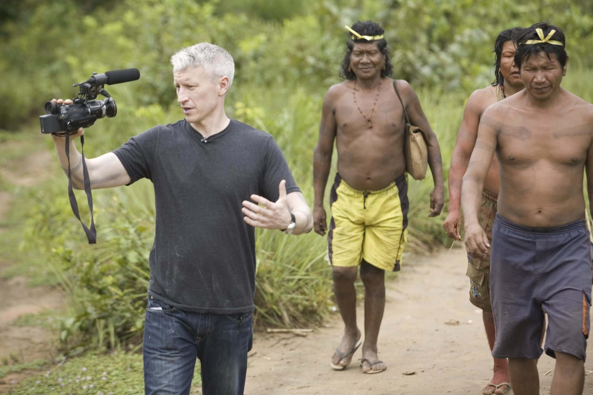 The Planet in Peril with Anderson Cooper in Brazil. (CNN files)