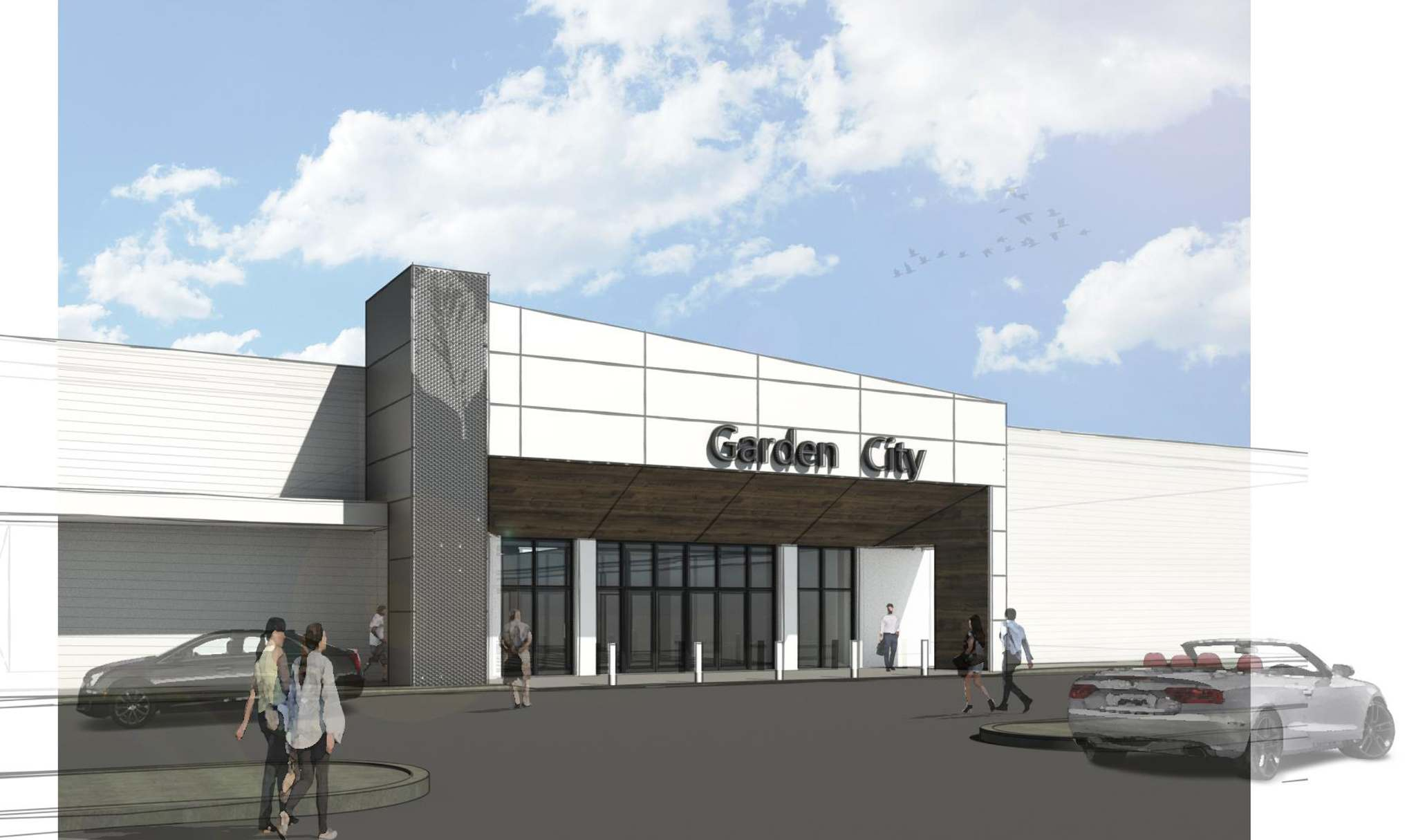 Supplied / RioCan</p><p>A rendering of renovations to the Garden City Shopping Centre.</p>