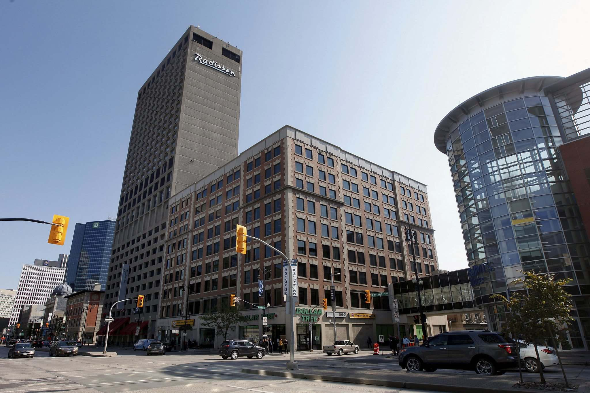 The Somerset Building is one of four up for designation as a historic building. (Phil Hossack / Winnipeg Free Press)