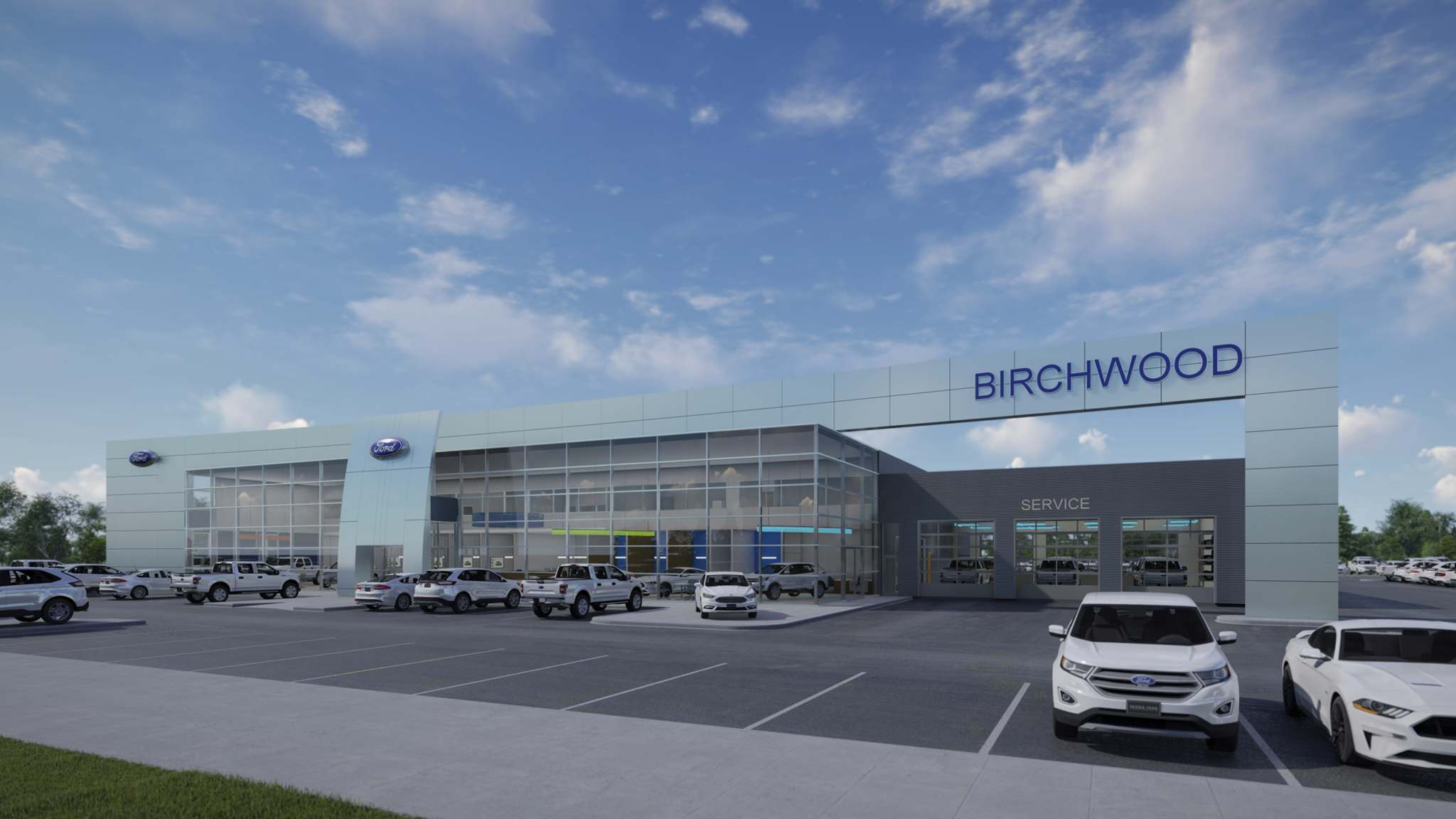 Supplied</p><p>The new Birchwood Ford will be Winnipeg's second to sport Ford's Signature image.</p>