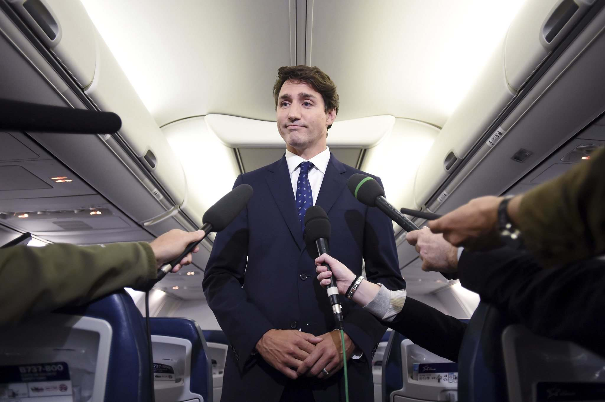 The federal Liberal party's re-election campaign was sent reeling in the span of less than 24 hours by the disclosure of not one, not two, but three separate images showing leader Justin Trudeau in black- or brown-face makeup. (Sean Kilpatrick / The Canadian Press)