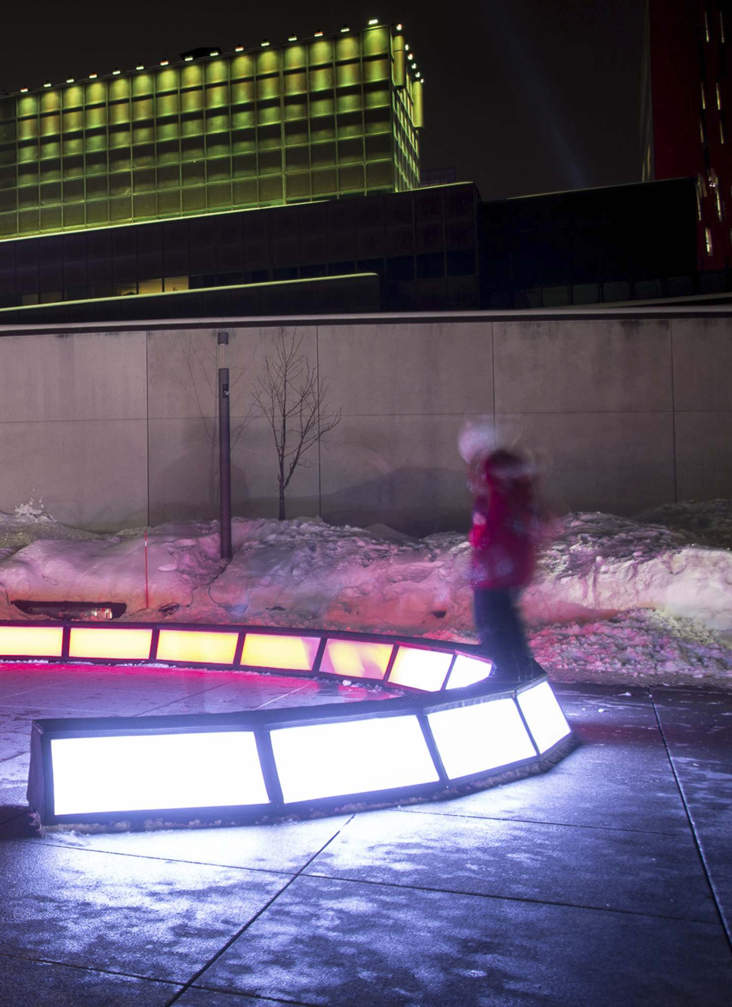 Cycle is one of the featured pop-up public art installations at this year's Nuit Blanche event that can be found at Old Market Square. (Serge Maheu)