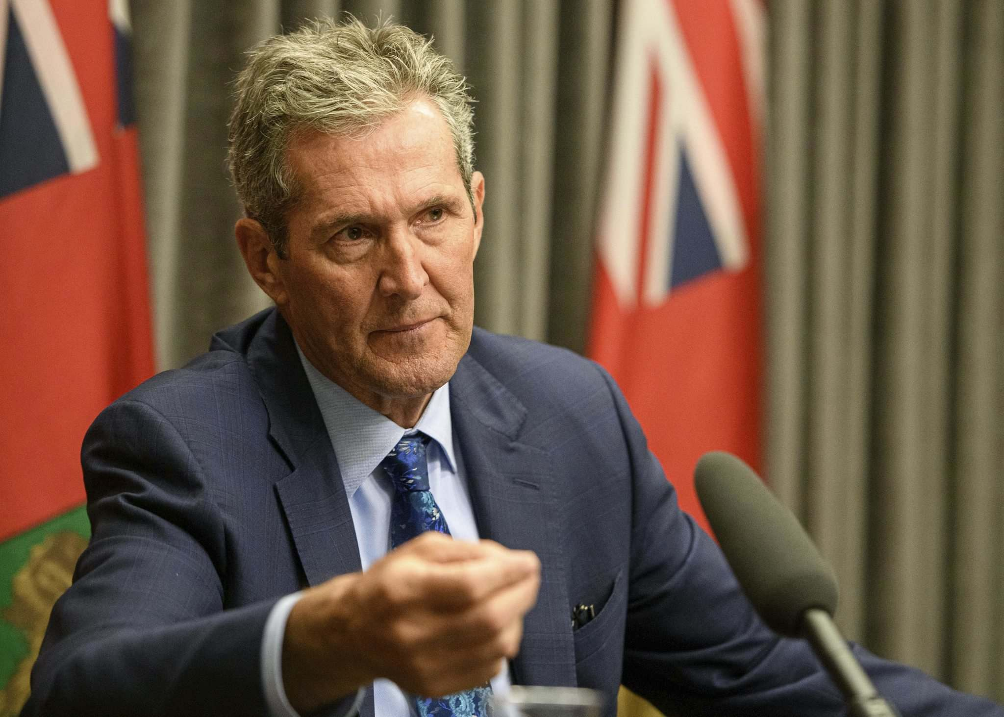 MIKE SUDOMA / WINNIPEG FREE PRESS FILES</p> <p>Brian Pallister's success at slashing the deficit will make it hard to explain why his next deficit will be higher.</p>