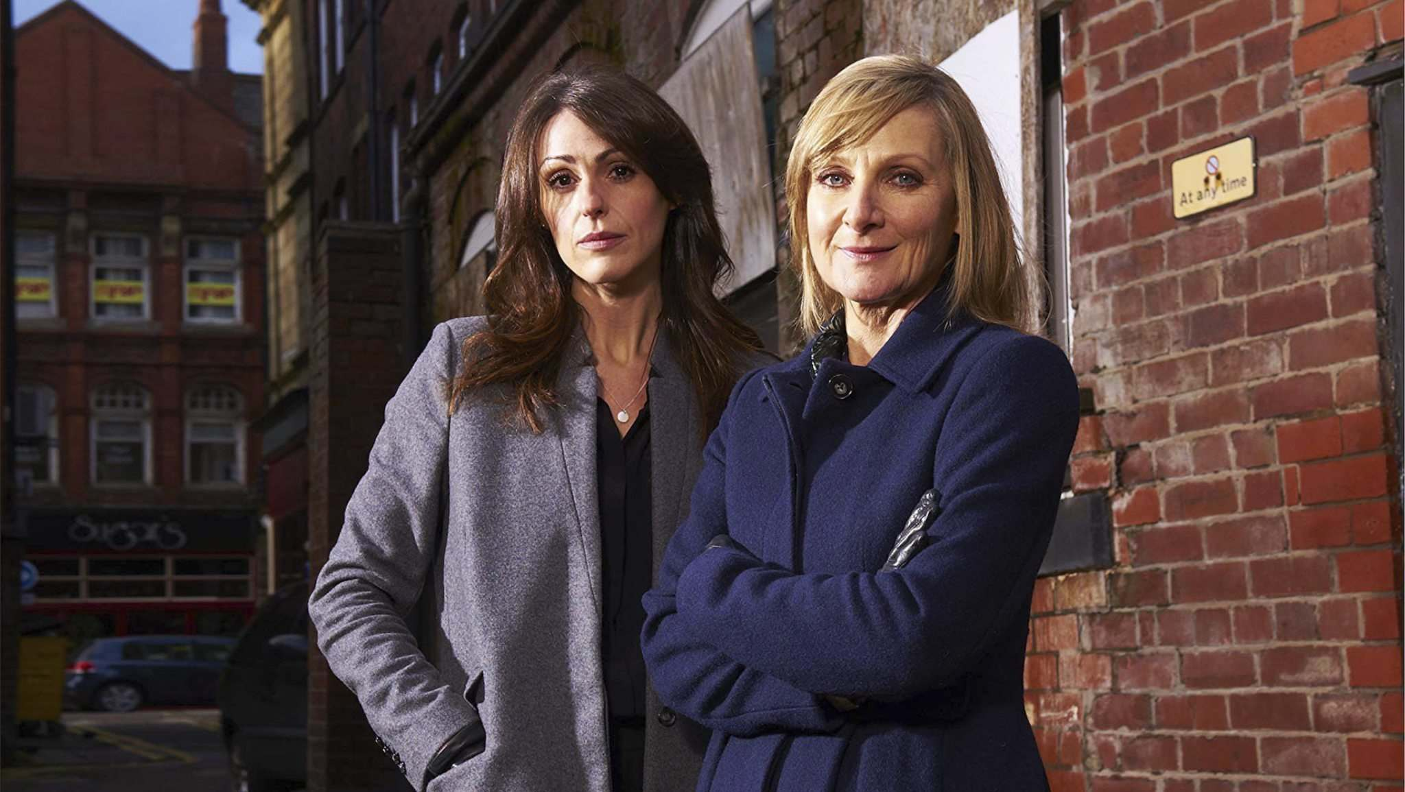 BBC Worldwide</p><p>British show Scott & Bailey features the peerless pair of actors Suranne Jones (left) and Lesley Sharp. </p>