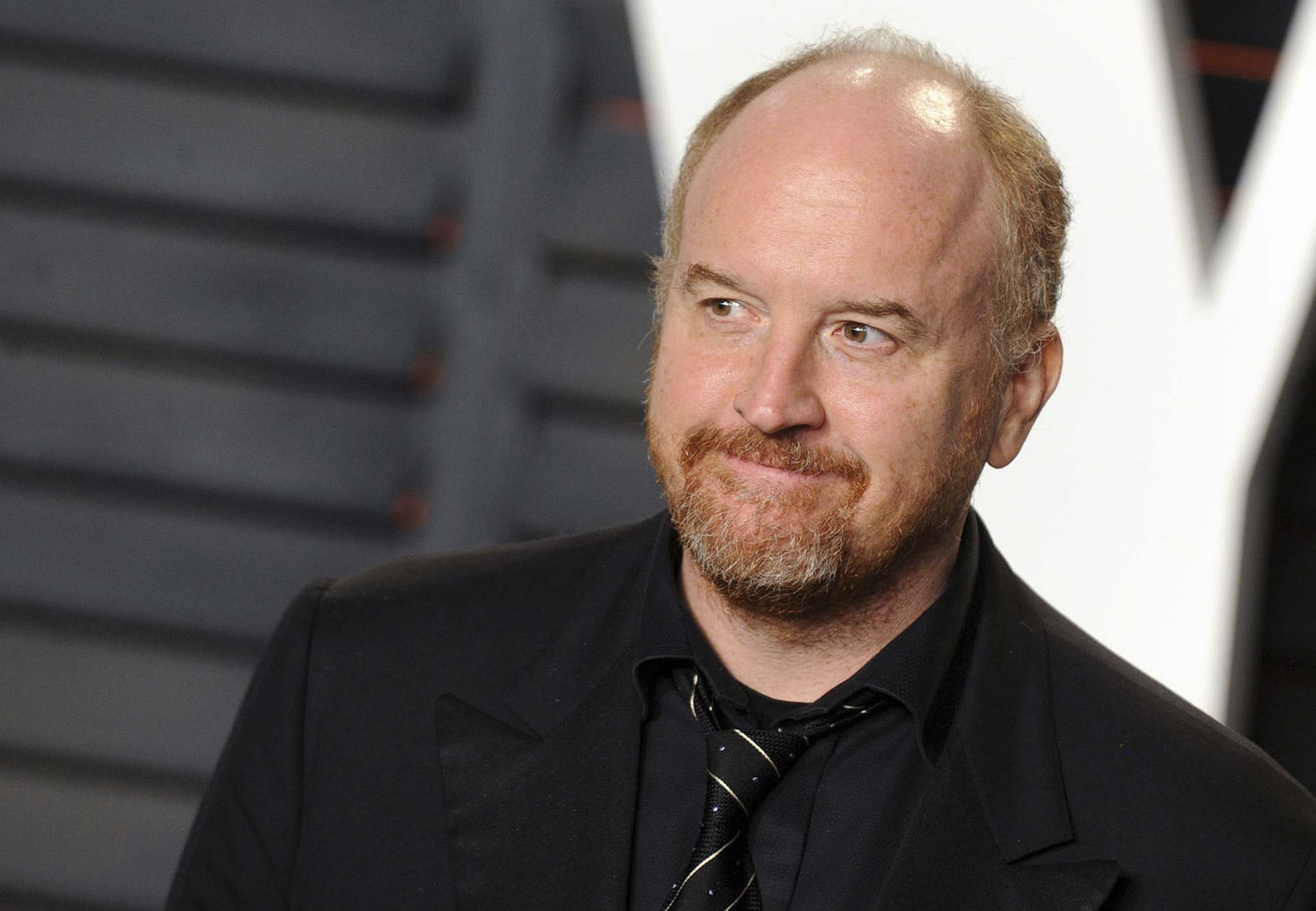 Louis C.K. arrives at the 2016 Vanity Fair Oscar Party on February 28, 2016, in Beverly Hills, Calif. (Dennis Van Tine/UPPA/Zuma Press/TNS)</p>