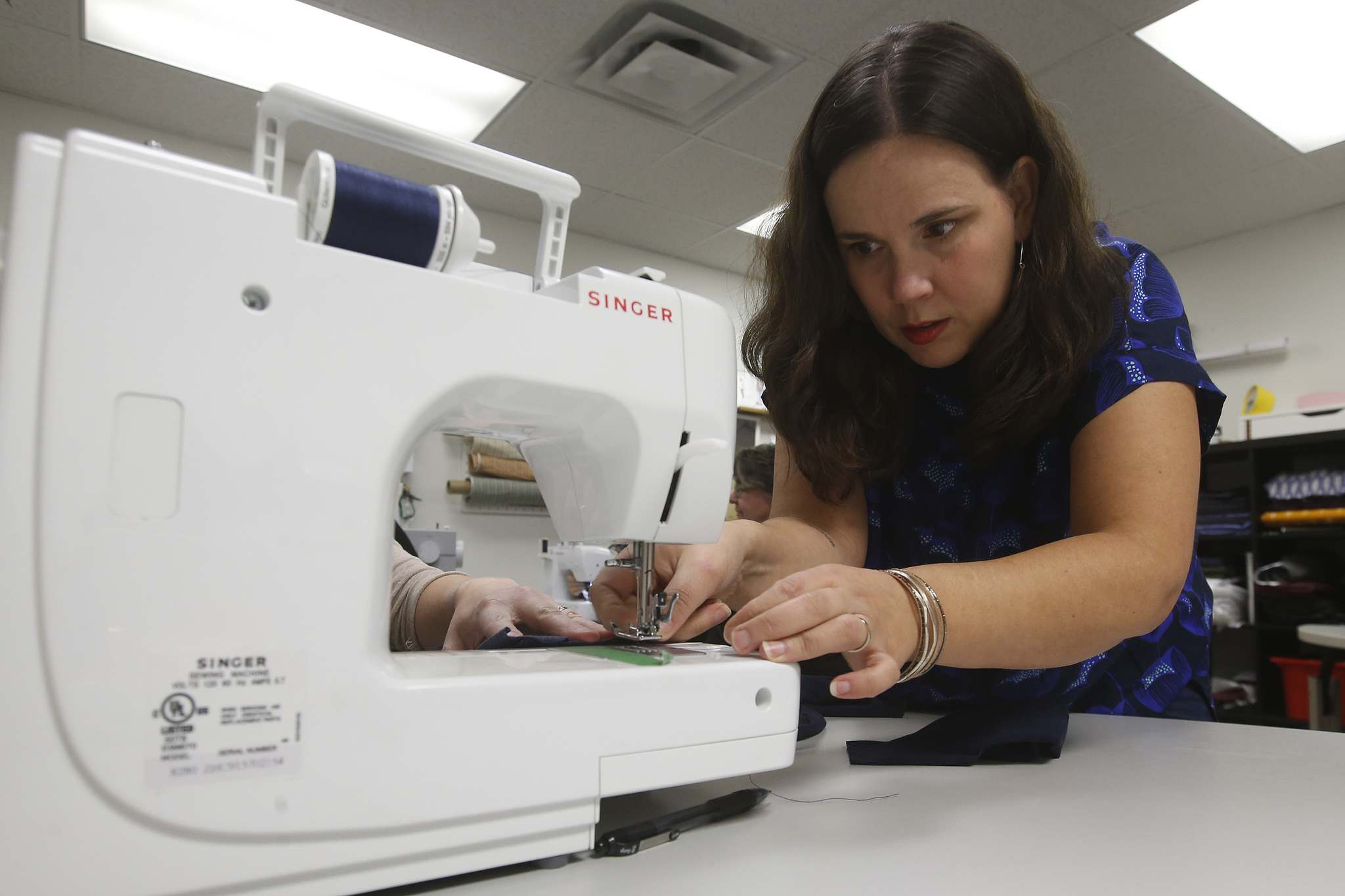 Sewing enthusiasts happy to share passion and expertise with eager beginners