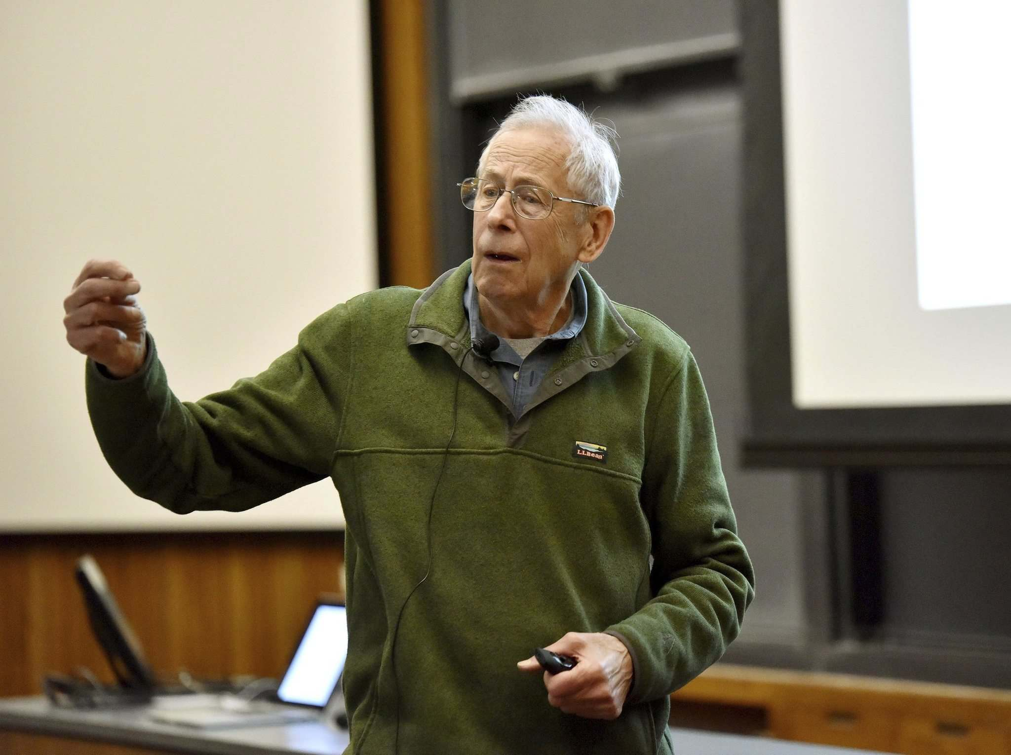 Mark Czajkowski / Princeton University</p><p>James Peebles, who has shaped our understanding of the universe, is one of three scientists who were awarded the 2019 Nobel Prize in Physics.</p>