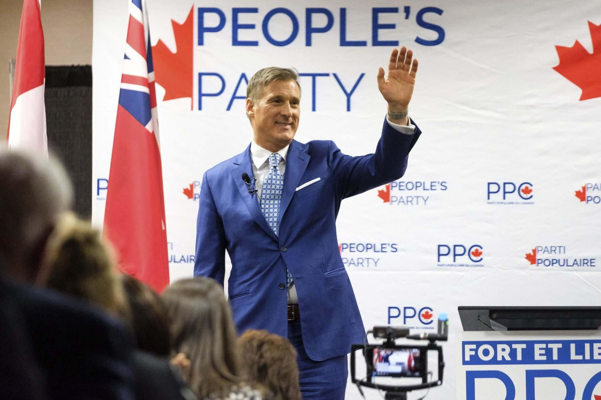 MacDiarmid is absolutely certain of one thing: Maxime Bernier will one day be prime minister of Canada. (Daniel Crump / Free Press files)