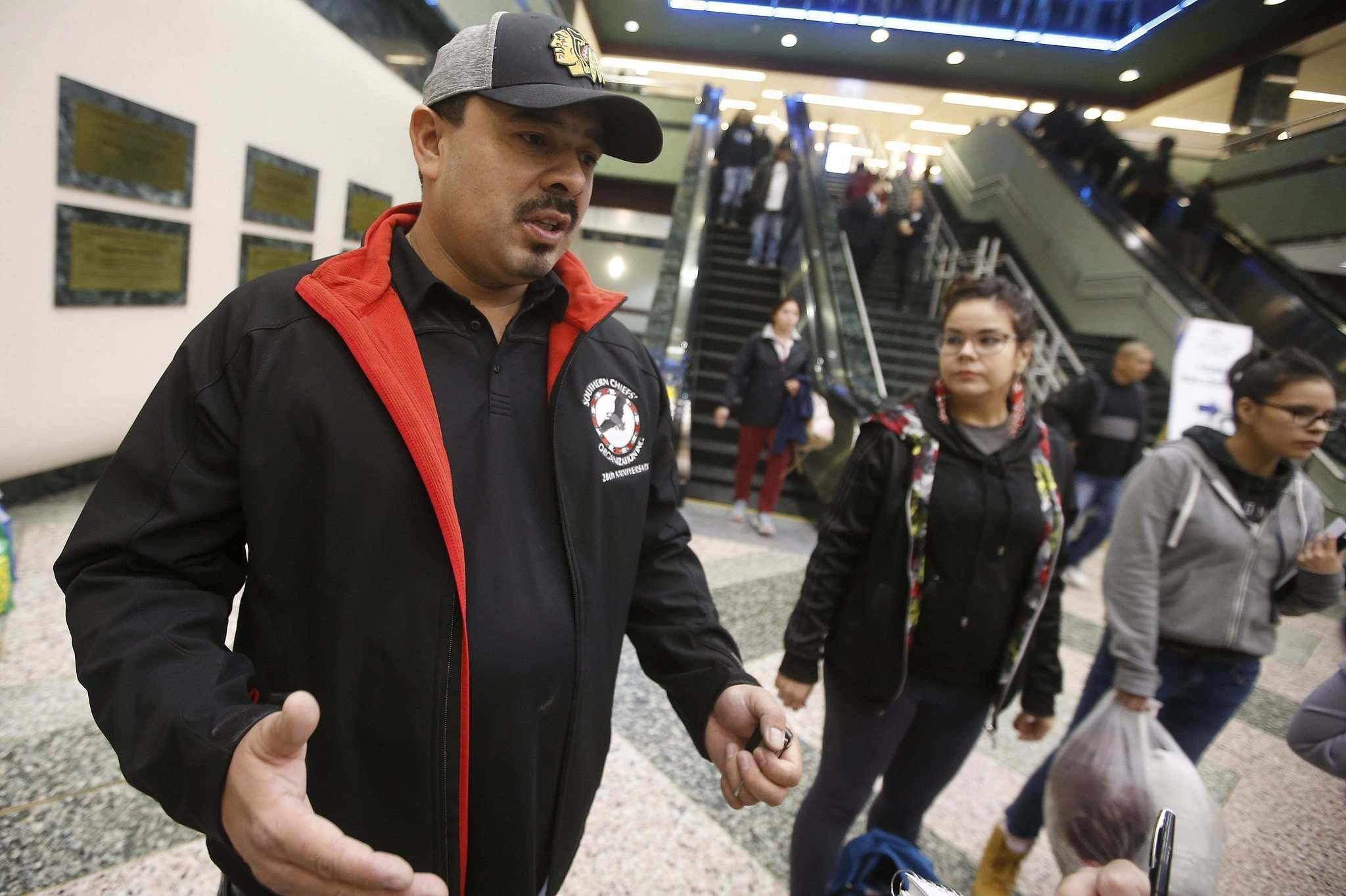 The situation at home was dire, said Preston Swan, a councillor for Lake Manitoba First Nation, one of the hardest-hit communities in the province. (John Woods / Winnipeg Free Press)