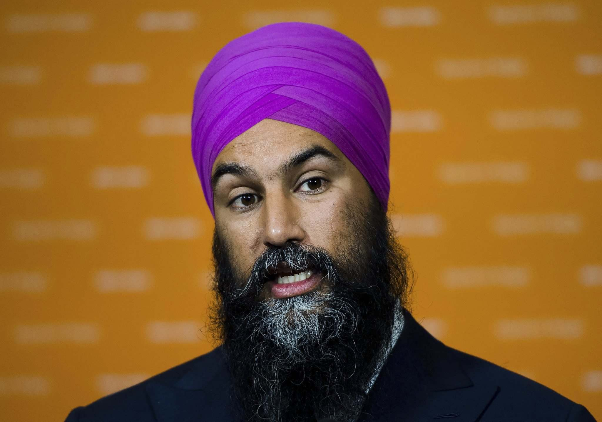 New Democratic Party Leader Jagmeet Singh said he would be open to forming a coalition government with the Liberals. (Nathan Denette / The Canadian Press files)