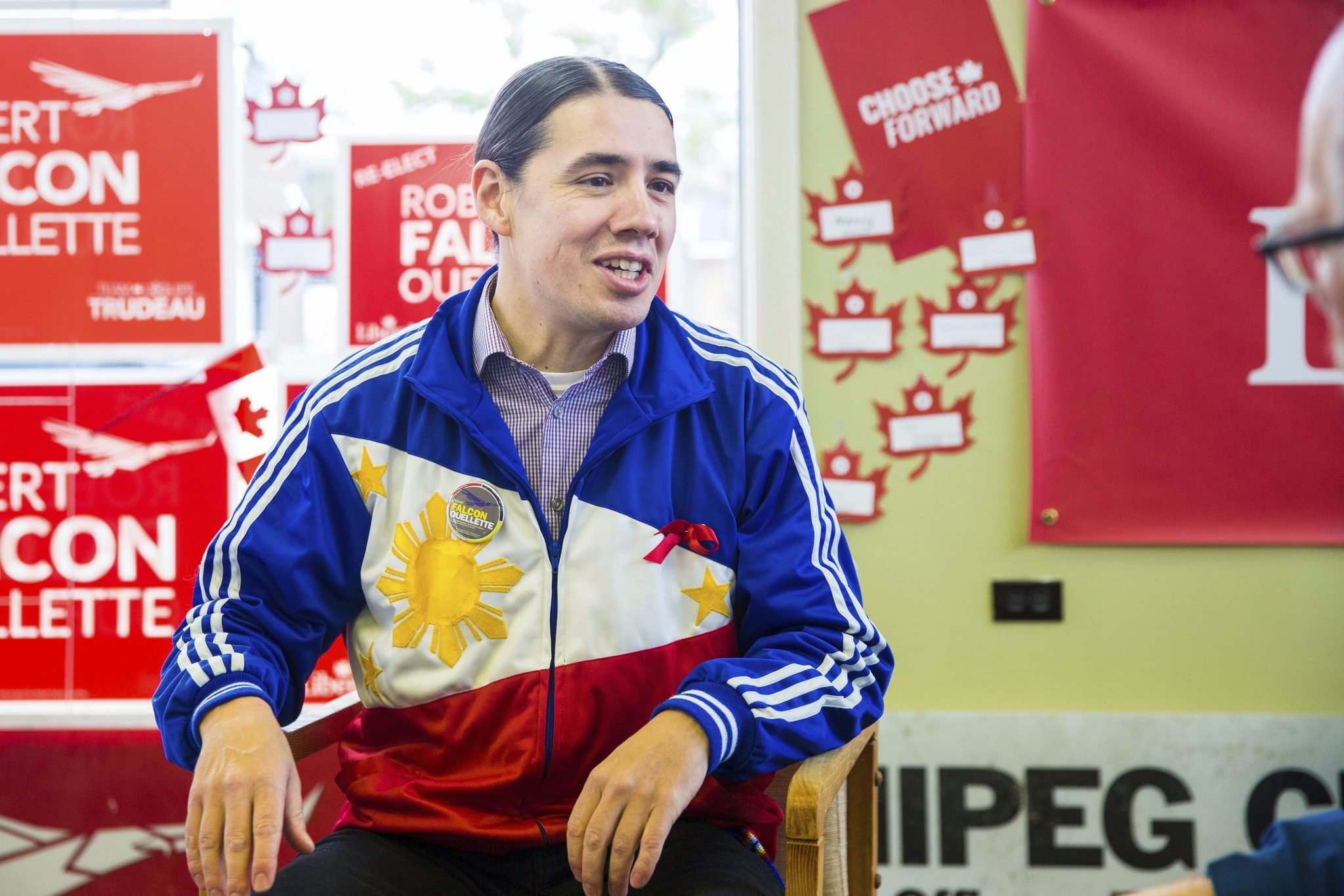 MIKAELA MACKENZIE / WINNIPEG FREE Press</p><p>Liberal candidate Robert-Falcon Ouellette seeks re-election in Winnipeg Centre.</p></p>