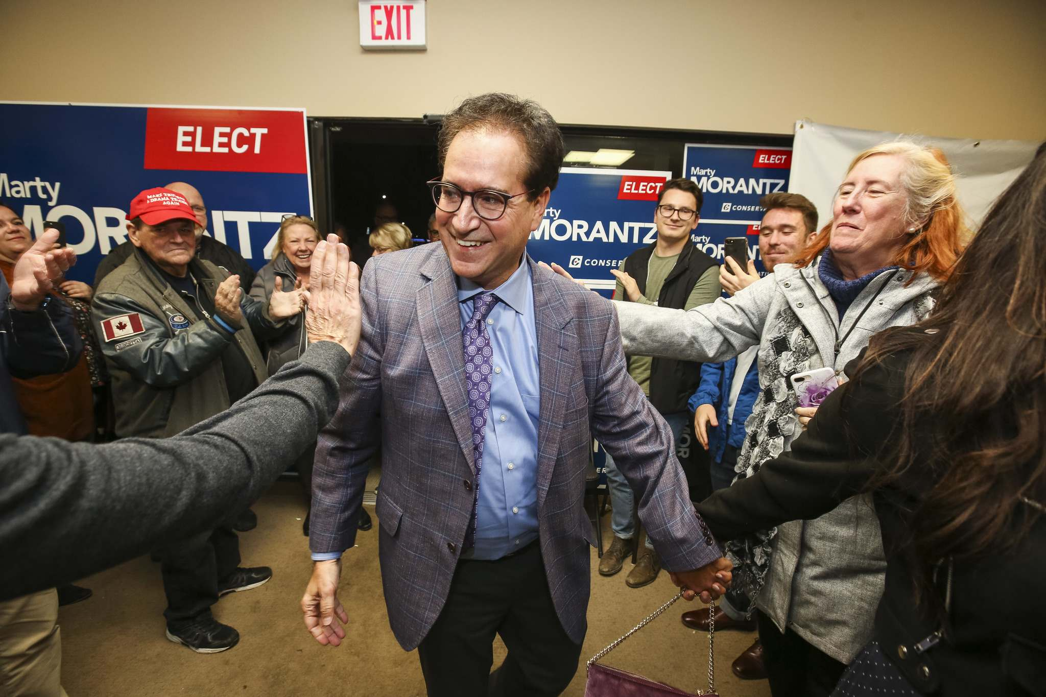Marty Morantz heads to Ottawa after spending four years as a Winnipeg city councillor, before announcing his intention to seek federal office in May 2019. (Mike Deal / Winnipeg Free Press)</p>