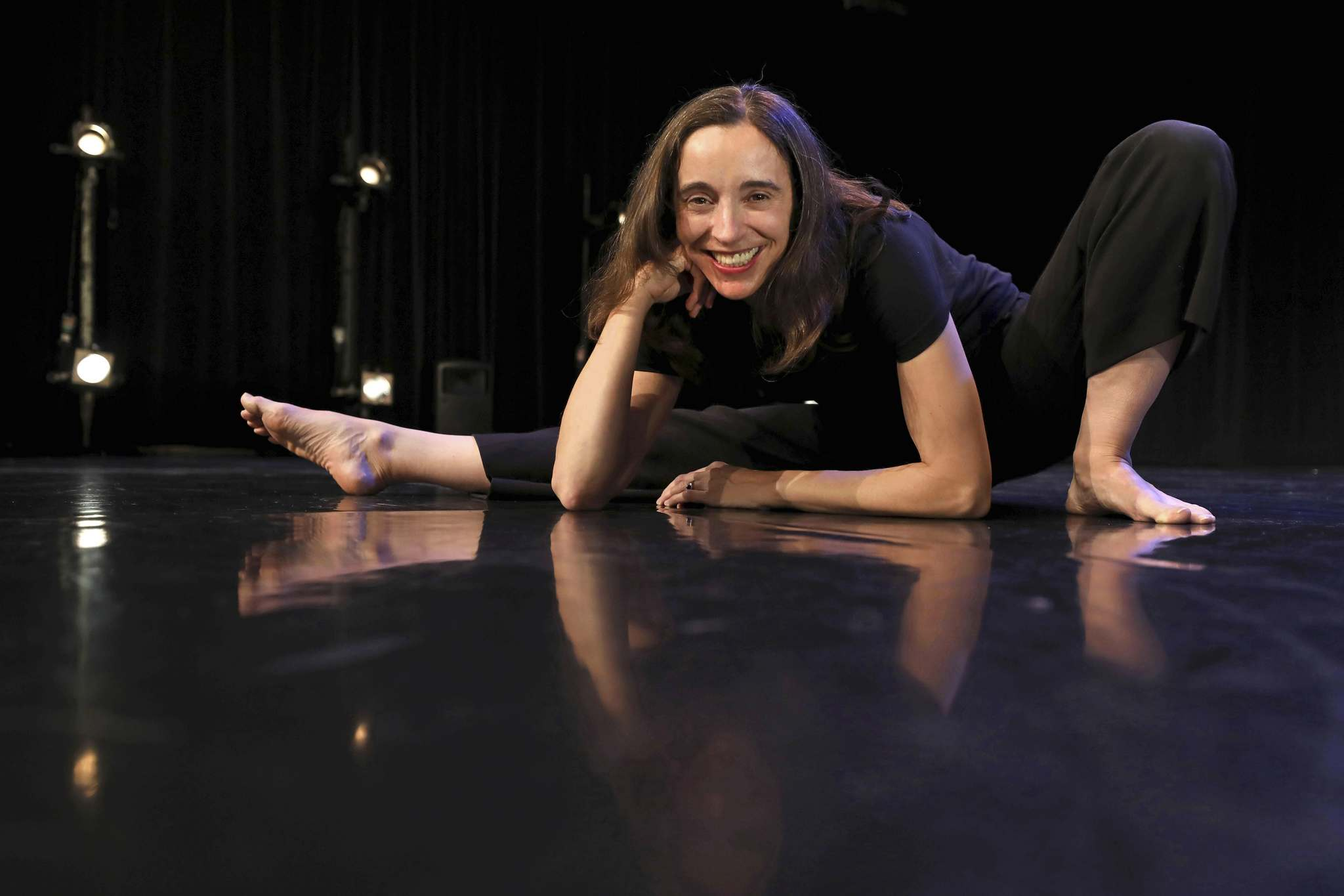 Jolene Bailie is the first female artistic director at Winnipeg's Contemporary Dancers since the departure of founder Rachel Browne in 1983. (Ruth Bonneville / Winnipeg Free Press)