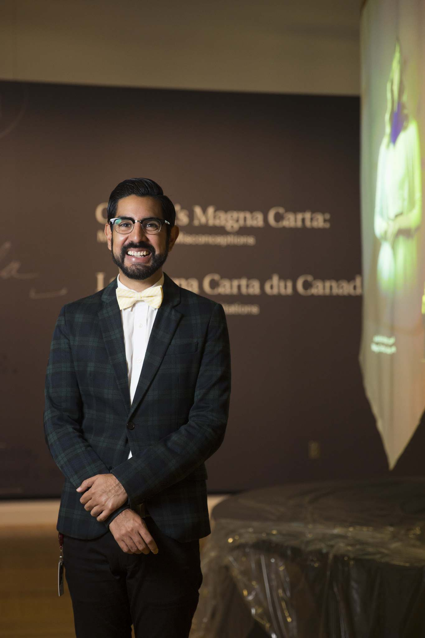 Armando Perla left the CMHR earlier this year to work at the Museum of Movements in Malmo, Sweden Armando. (Mikaela MacKenzie / Free Press files)