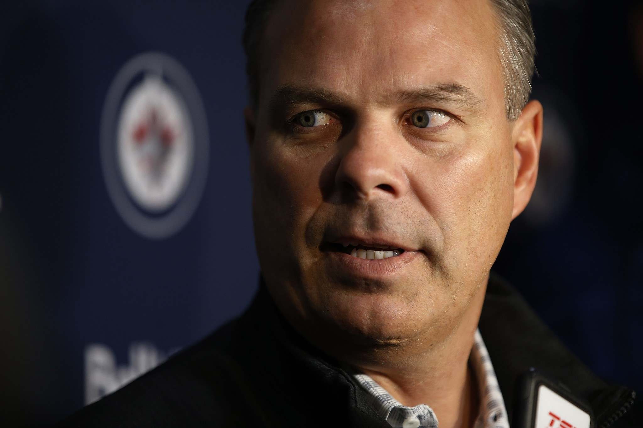 """JOHN WOODS / THE CANADIAN PRESS FILES</p><p>""""As far as what remains for the future, it's something that we'll just have to wait and see,"""" Winnipeg Jets general manager Kevin Cheveldayoff told reporters Thursday.</p>"""