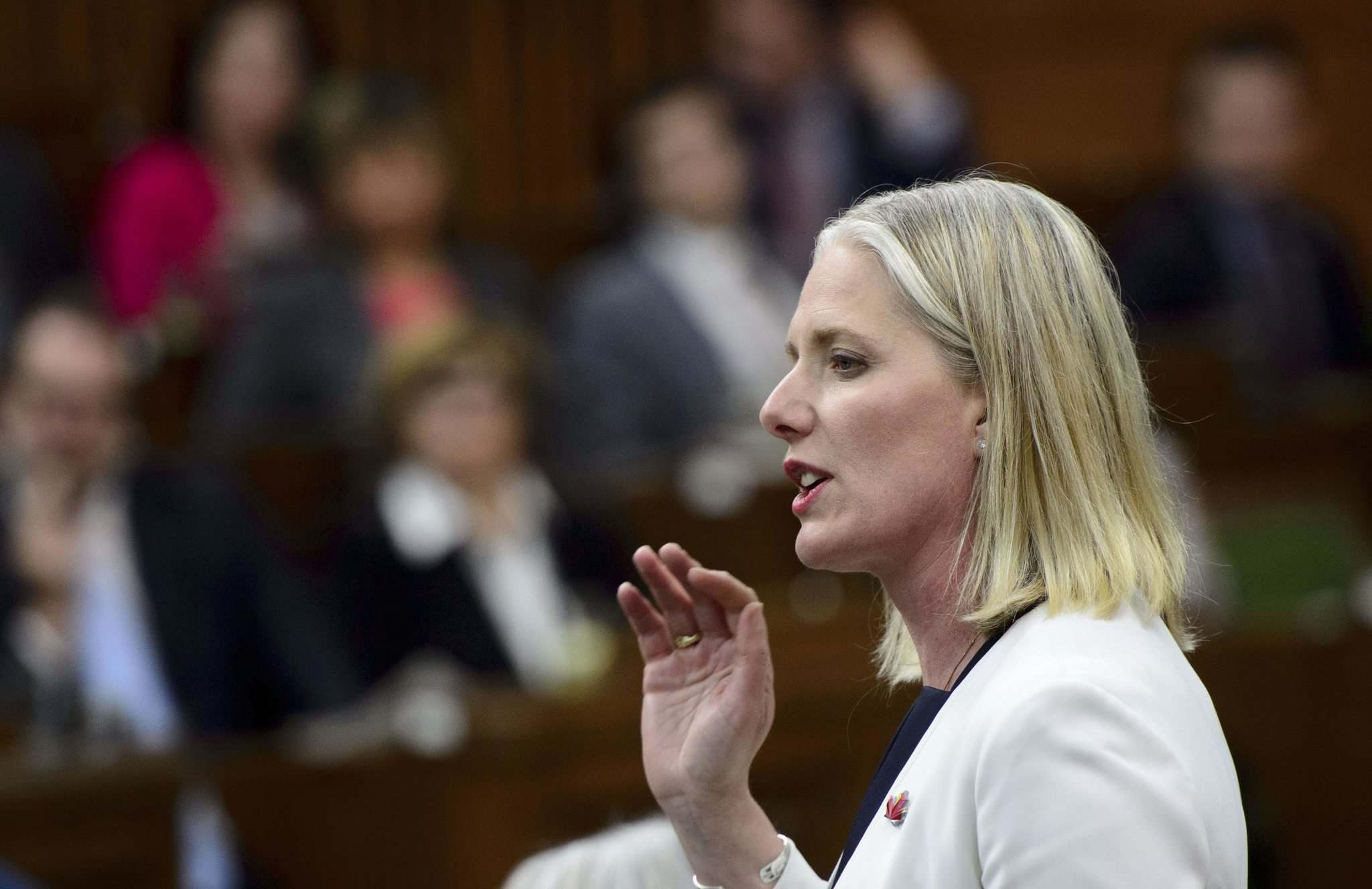 Sean Kilpatrick / The Canadian Press Files</p><p>Catherine McKenna should retain her role as environment minister, and should be considered for the role of deputy prime minister.</p>