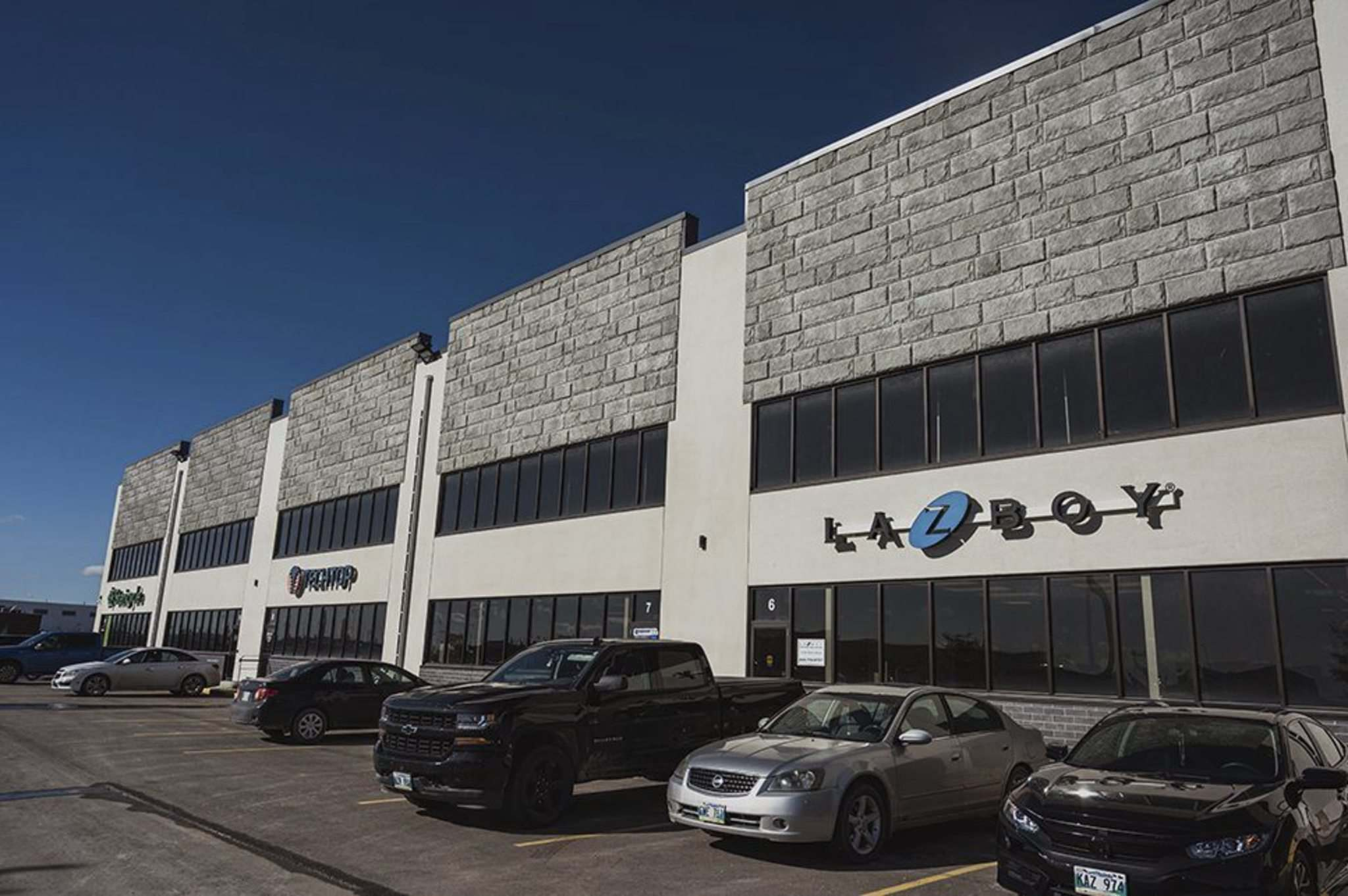 La-Z-Boy Inc. is among the tenants at Brookside's smaller building.</p></p>