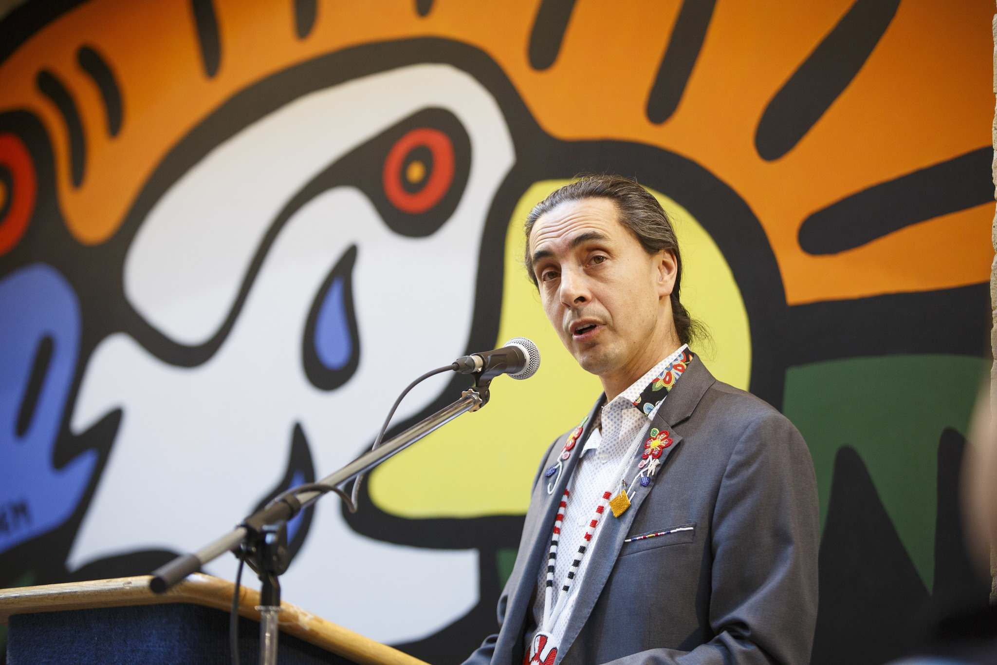 """Some of our communities have long-term plans as to how they want to provide for their people and when the provincial gaming people are not working in a collaborative or in a meaningful way, then it is impacting all of our communities,"" Grand Chief Arlen Dumas said. (Mike Deal / Free Press files)"