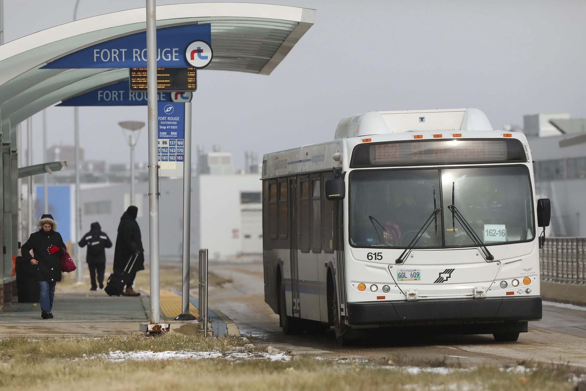 RUTH BONNEVILLE / WINNIPEG FREE PRESS</p><p>Route reorganization should improve riders' experience.</p>