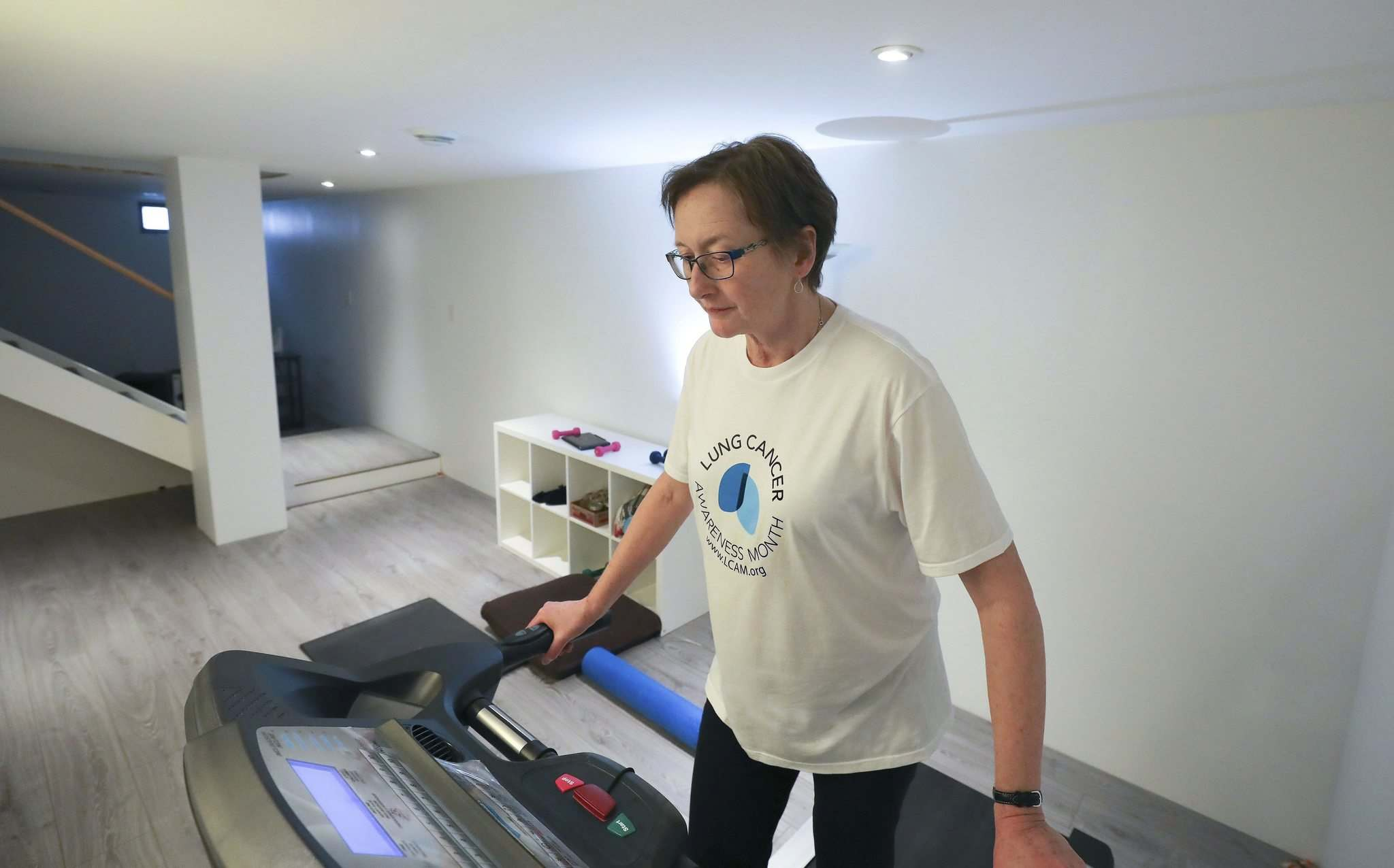 RUTH BONNEVILLE / WINNIPEG FREE PRESS</p><p>Before her diagnosis five years ago, Haiart was an avid runner and most importantly, never smoked.</p></p></p></p>