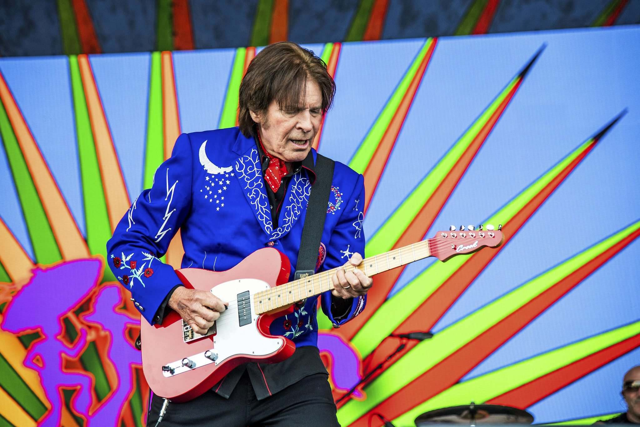 John Fogerty, who fronted Creedence Clearwater Revival before starting a solo career in 1973, will close out Dauphin's Countryfest next year. (Amy Harris / The Associated Press files)
