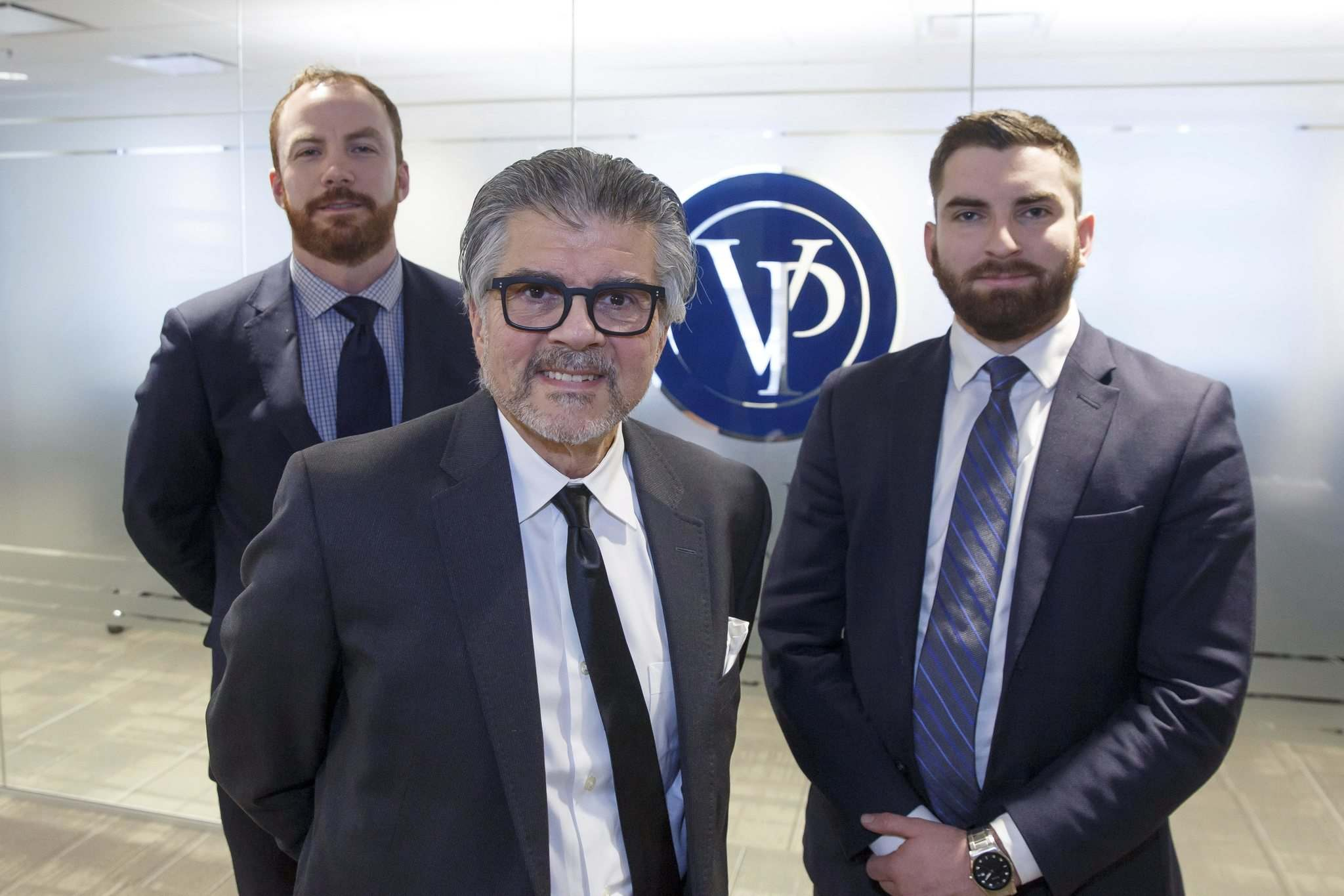 MIKE DEAL / WINNIPEG FREE PRESS</p><p>Larry Sarbit (centre) and his teammates Tim Skelly (left) and Tyler Baessler have joined Value Partners Investment, a Winnipeg mutual fund company with about $3 billion under management.</p>