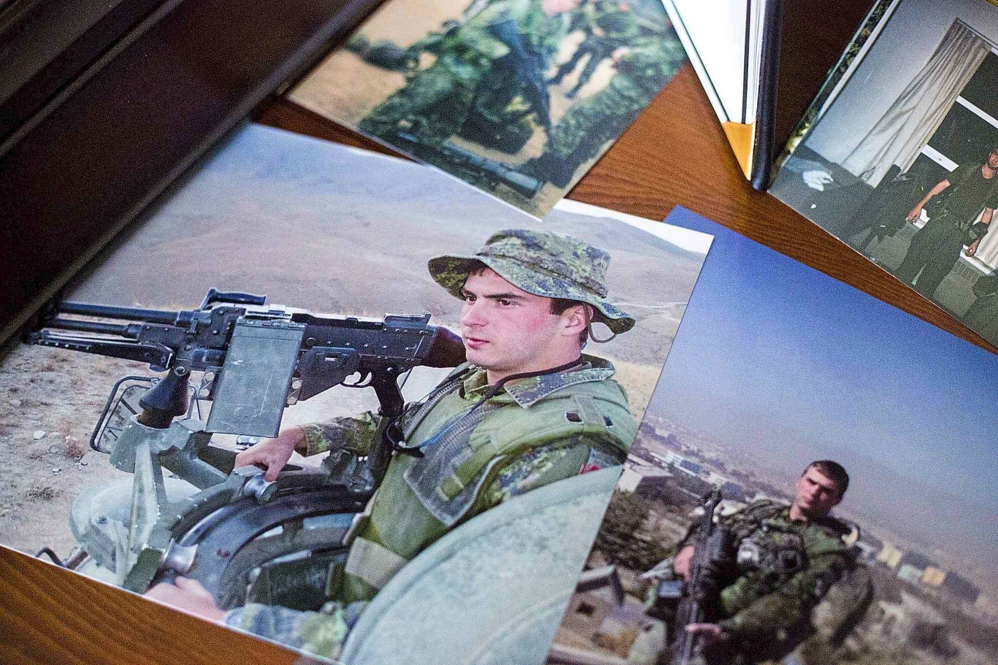 Anita Cenerini's son, Afghanistan veteran Pte. Thomas Welch, died by suicide at the age of 22 after returning from the war. (Mikaela MacKenzie / Winnipeg Free Press files)</p>