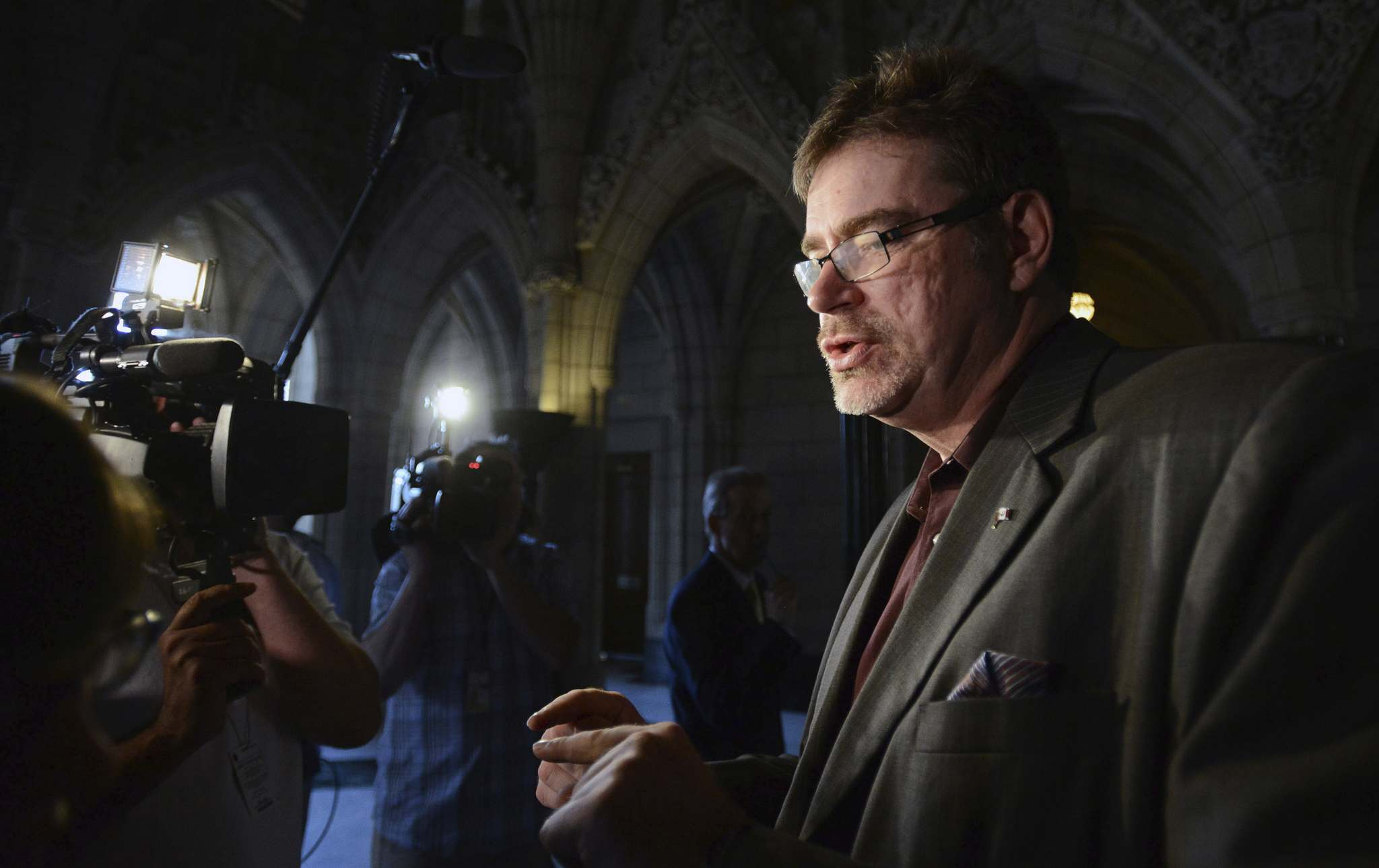 """""""If you stick to (your party's) script, you're going to have a very happy but unremarkable career in politics,"""" former Edmonton MP Brent Rathgeber said. (Sean Kilpatrick / Canadian Press files)"""