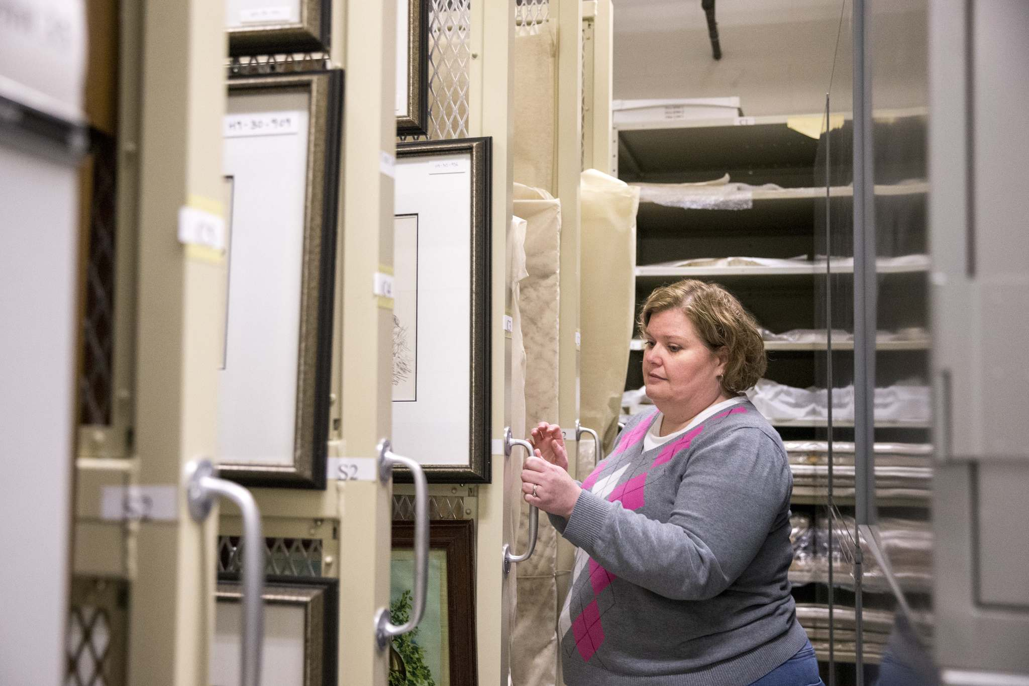 Cindy Colford, manager of collections and conservation at the Manitoba Museum, says museums have continued to collect, while budgets to care for collections haven't kept pace. (Mikaela MacKenzie / Winnipeg Free Press)