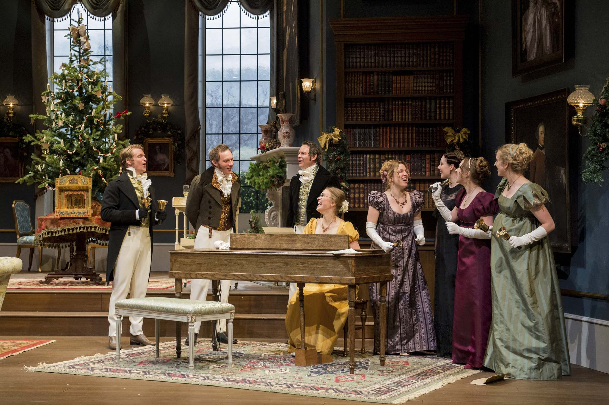 Miss Bennet: Christmas at Pemberley is a sequel to Jane Austen's Pride and Prejudice by American playwrights Lauren Gunderson and Margot Melcon. (Dylan Hewlett)