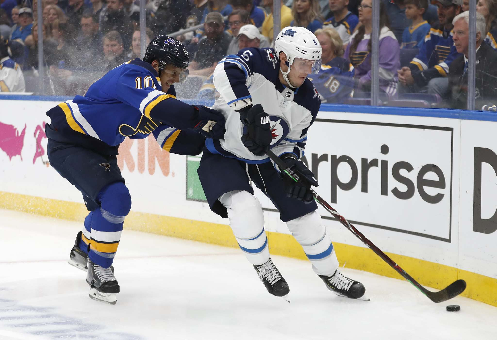 Dmitry Kulikov left the game during the first period Friday and didn't play Saturday against Los Angeles. (Jeff Roberson / The Associated Press files)</p>