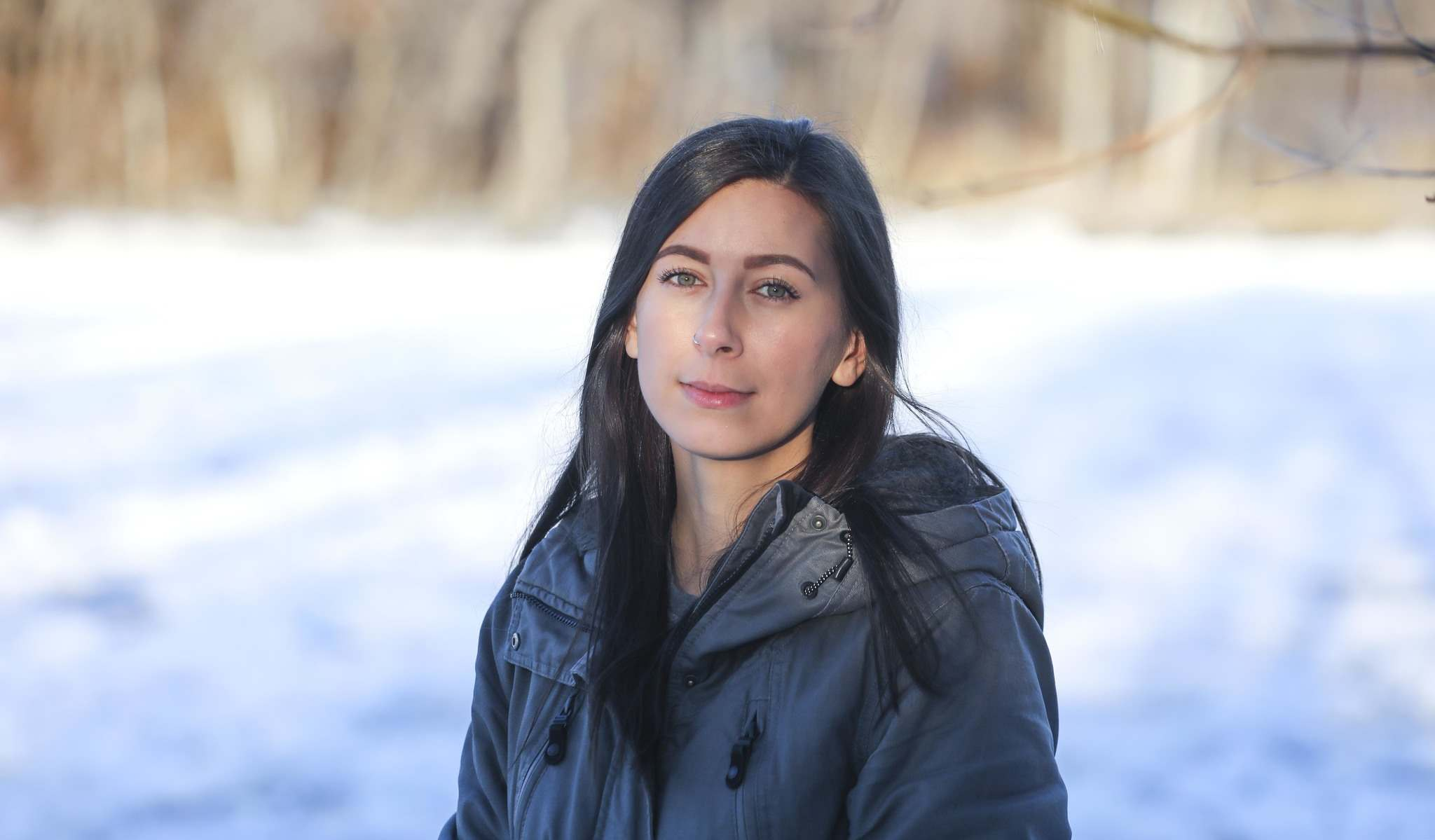 RUTH BONNEVILLE / WINNIPEG FREE PRESS</p><p>Jenna Jeffrey, a first-year law student at the University of Manitoba's Robson Hall, is one of more than 450 signatories on an open letter sent to Ottawa Tuesday demanding carbon emissions targets be enshrined in law.</p>