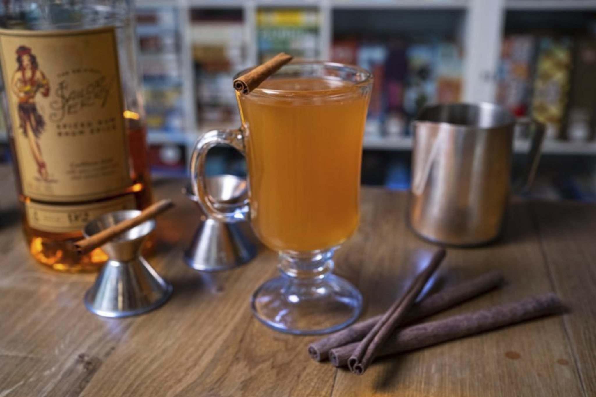 Supplied photo</p><p>Across the Board Game Café's Prairie Orchard features apple cider, chai tea and a kick of spiced rum, finished with cinnamon syrup and bitters.</p>