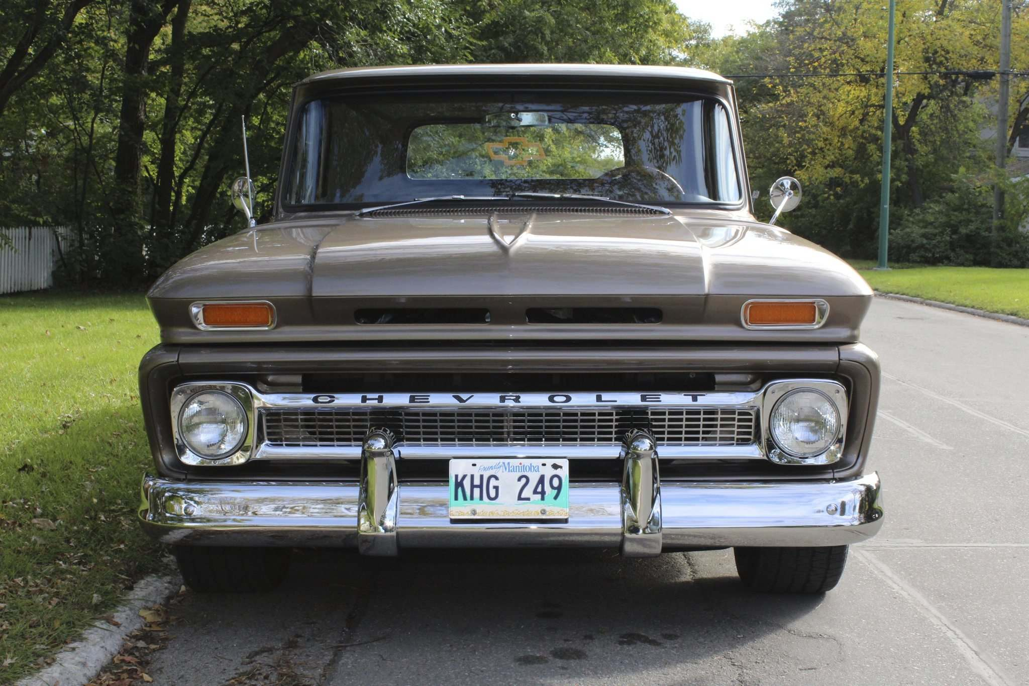 Larry D'Argis / Winnipeg Free Press</p><p>The Seidels' prized classic came already fully restored, with upgrades including a finished oak cargo bed, a 350-cubic-inch V-8 and a dash gauge cluster from a larger Chevrolet tandem truck.</p>