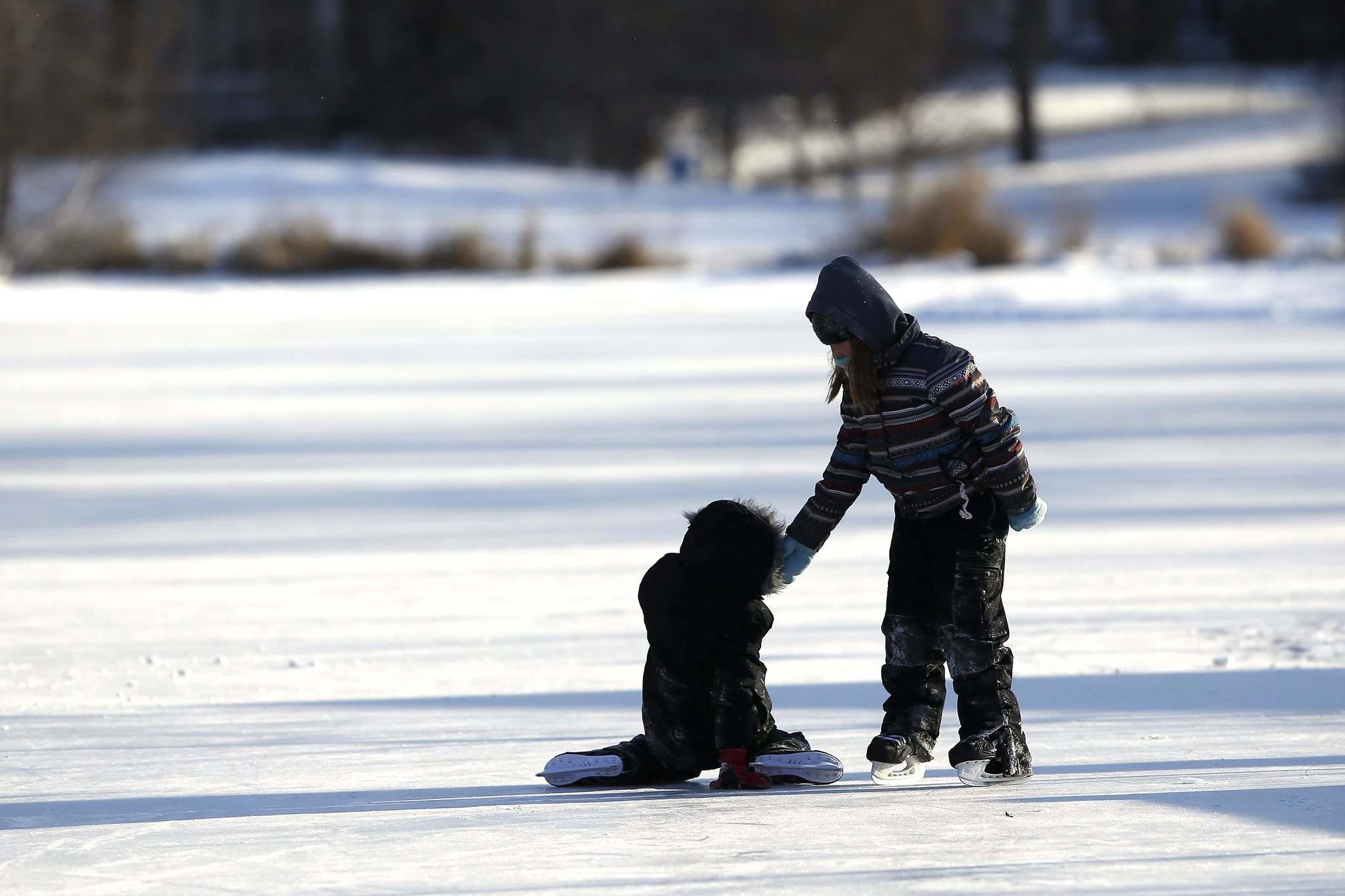 Manitoba's winters are almost two weeks shorter than 100 years ago, according to the results of a three-year analysis of winter temperature. (John Woods / Winnipeg Free Press)