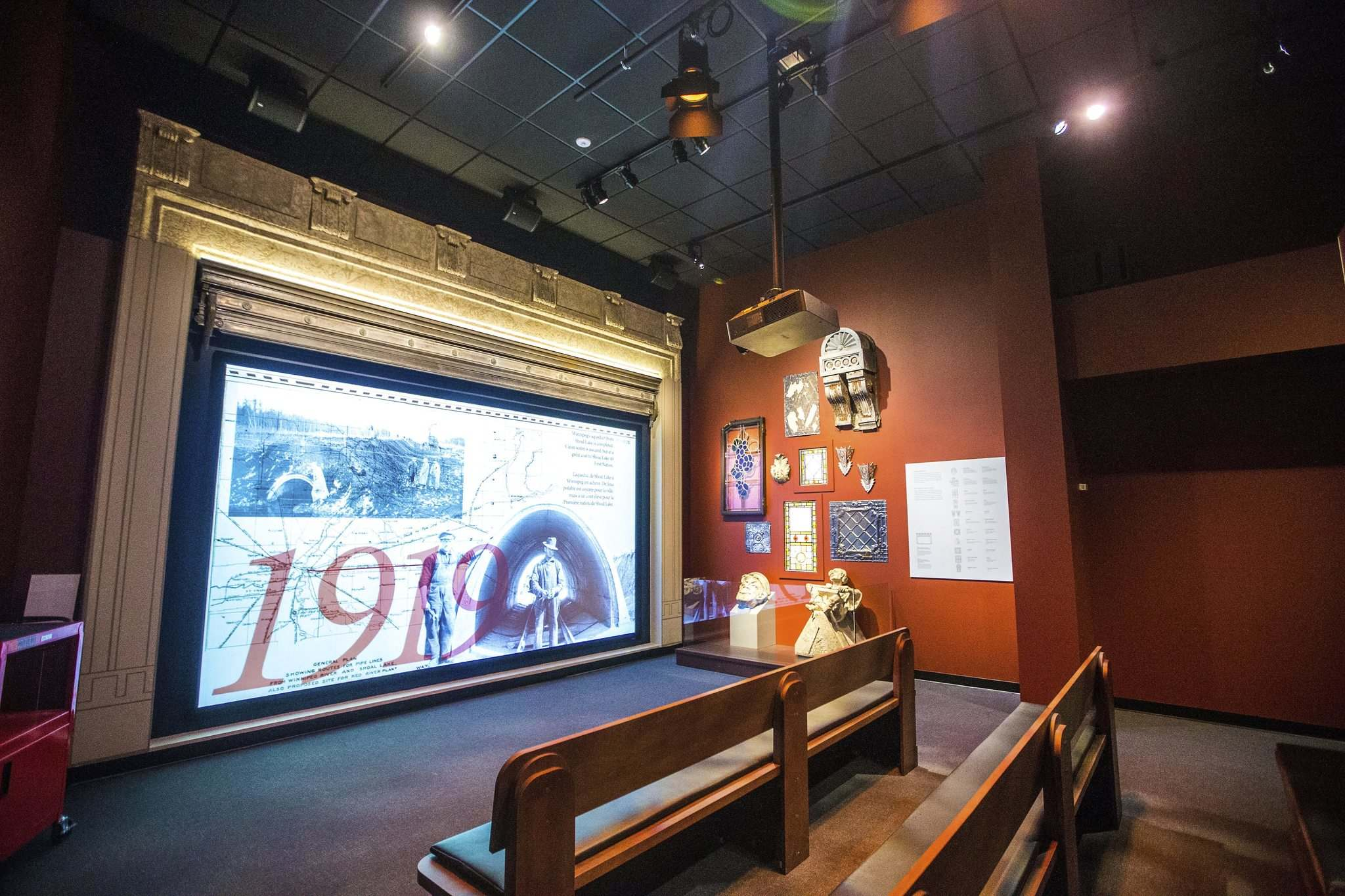 Sawatzky also curated the Winnipeg General Strike exhibit at the museum and thinks the centenary of that 1919 event has sparked new interest in the history of our city. (Mikaela MacKenzie / Winnipeg Free Press)
