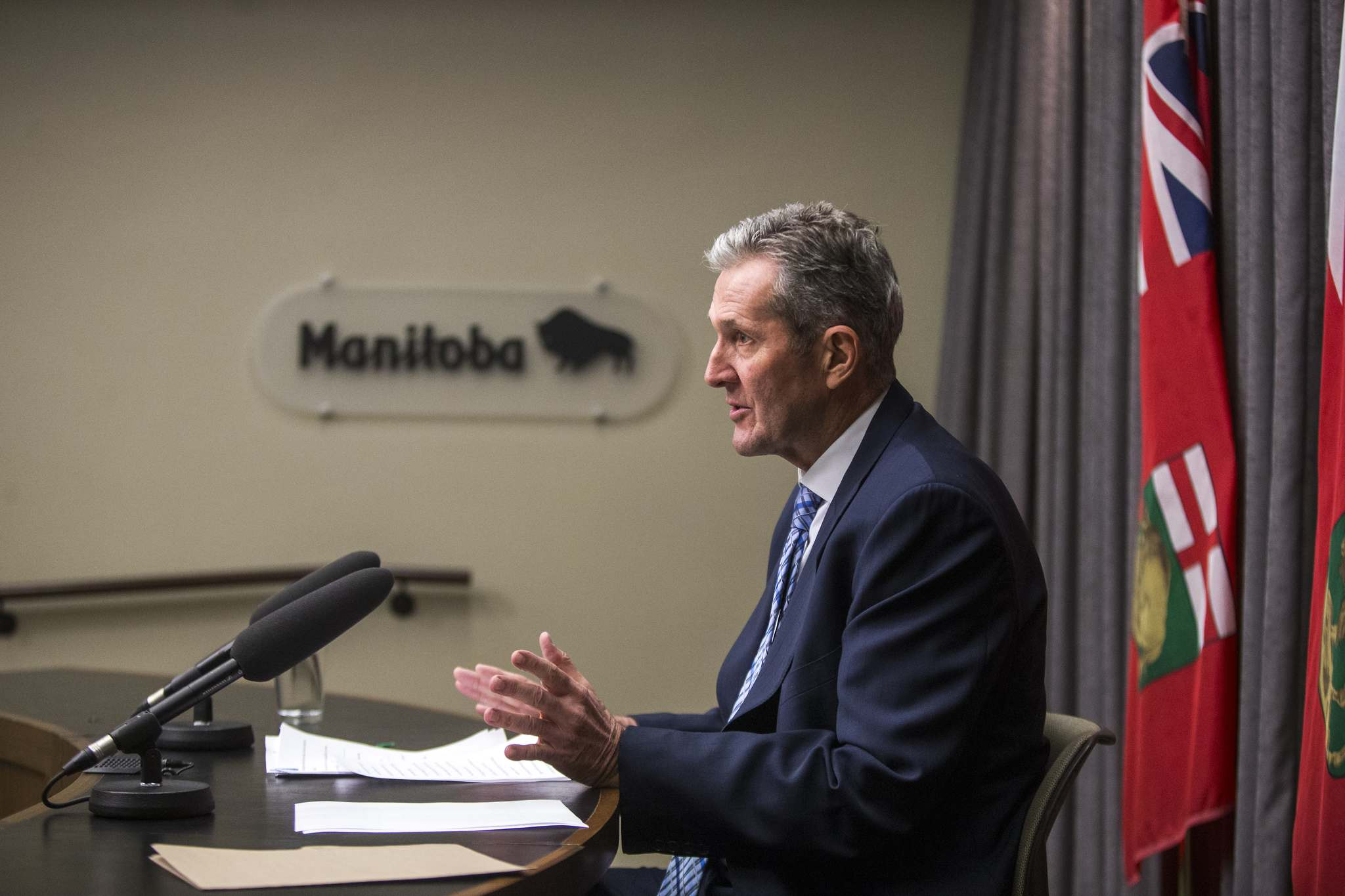 When Premier Brian Pallister whines about not getting enough federal dollars to pay for health care (equalization can be spent on whatever a province wants), it's tough to take his protests seriously. (Mikaela MacKenzie / Free Press files)