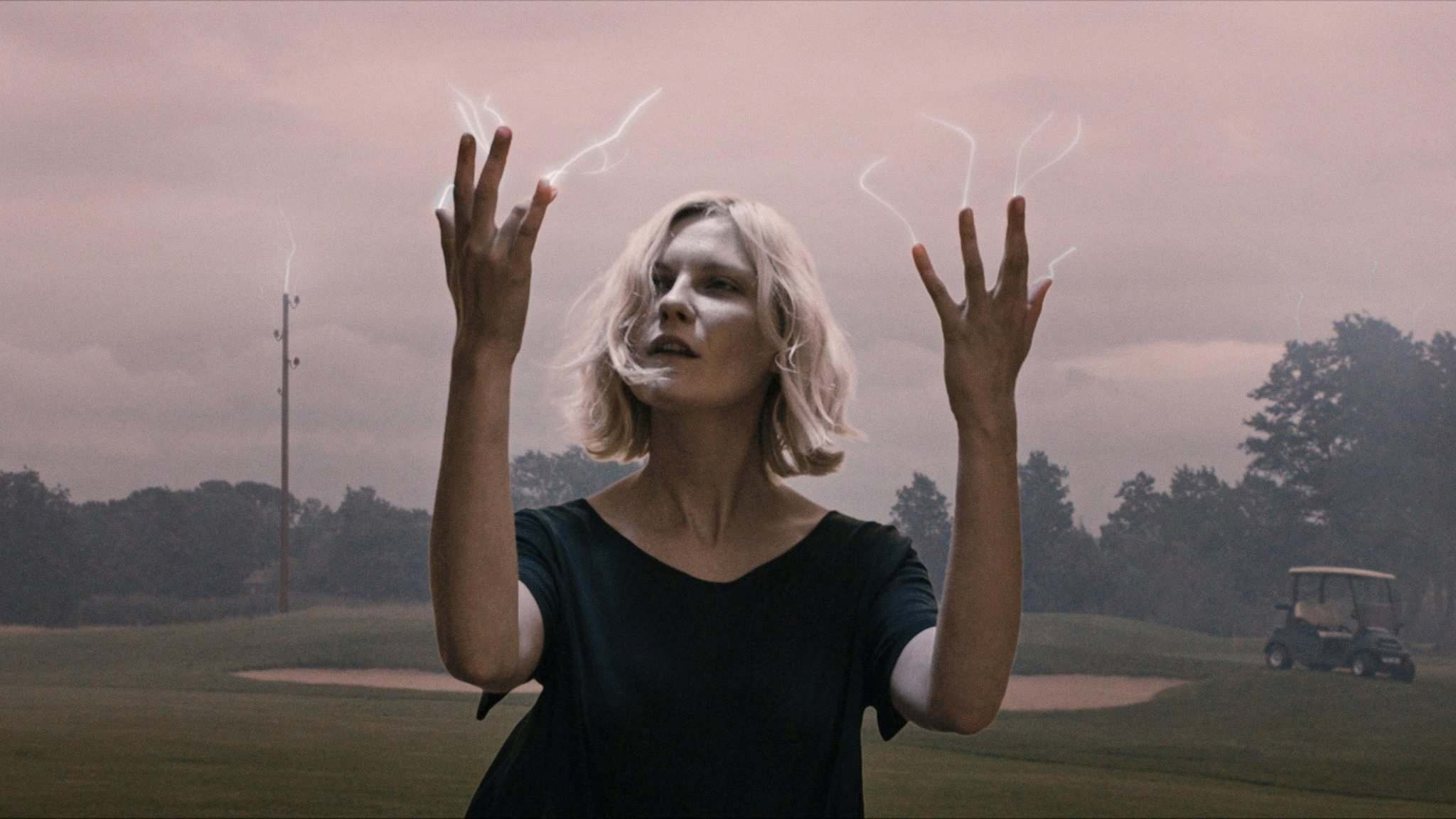 Kirsten Dunst portrays an emotionally fragile, self-destructive woman in Melancholia. (Magnolia Pictures)