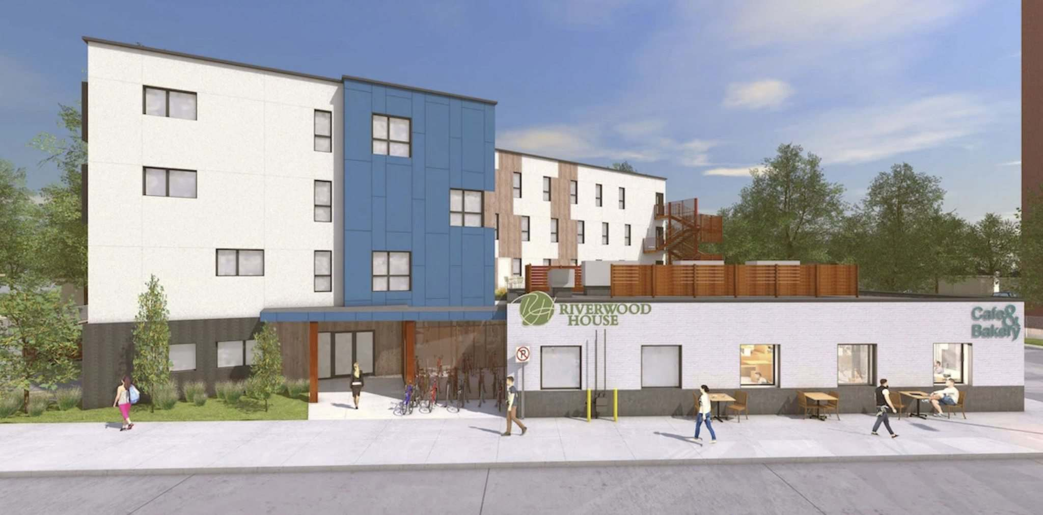 SPUTNIK ARCHITECTURE INC</p><p>The Riverwood Church Community on Talbot Avenue in Elmwood wants to turn the vacant lot and run-down building next to it into a four-storey, 40-unit sober living facility.</p><p>- for Carol Sanders story / Winnipeg Free Press 2019</p>