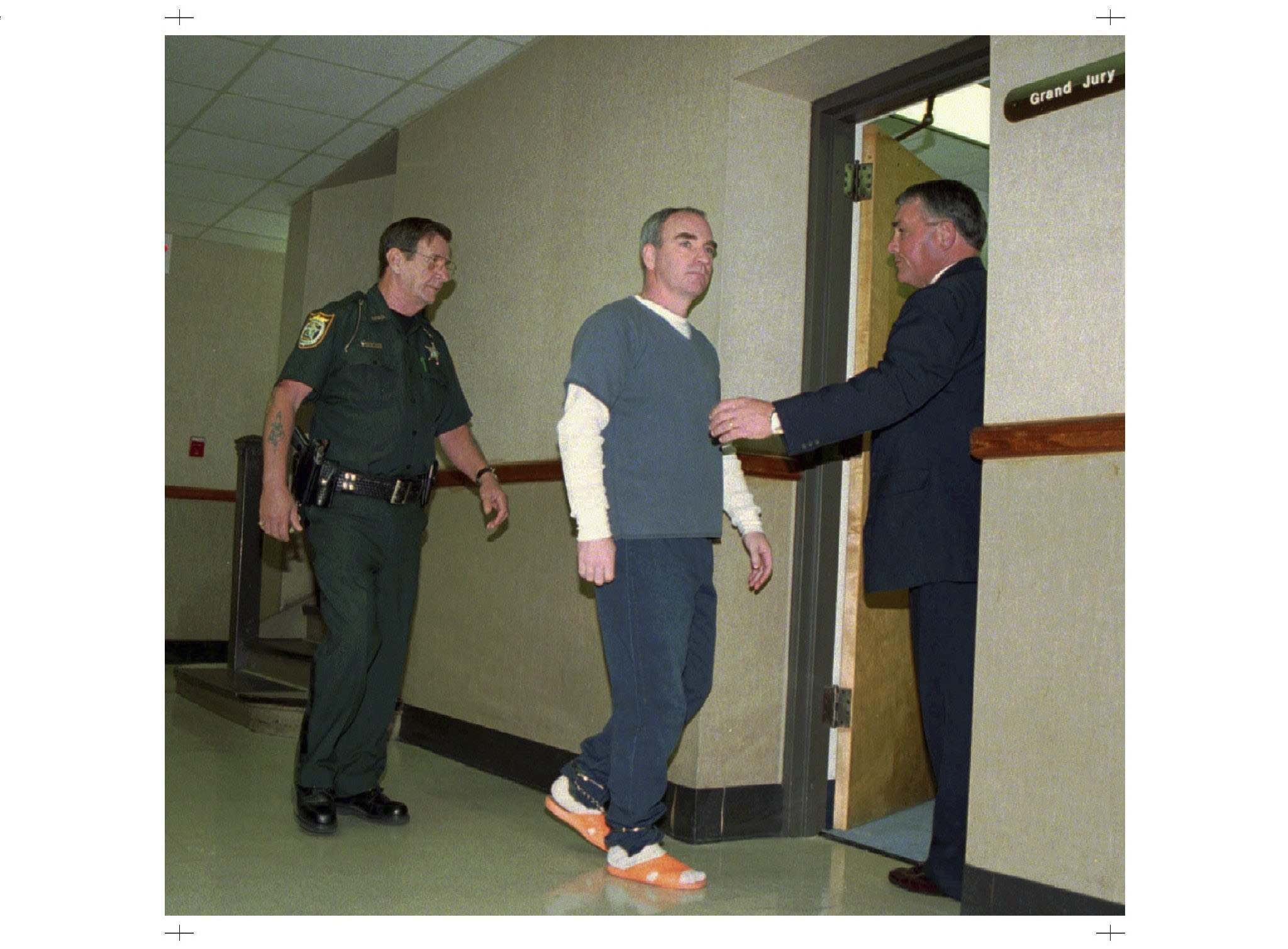 Ralph Crompton was convicted of the David Turenne's murder. (Tracy Wilcox / Panama City News Herald files)