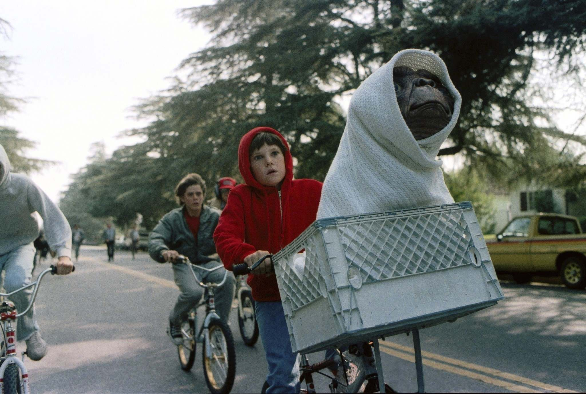 "SUPPLIED</p><p>It will be 38 years since ""ET, phone home"" became a part of our lexicon. The alien in Steven Spielberg's classic film remains beloved today.</p>"