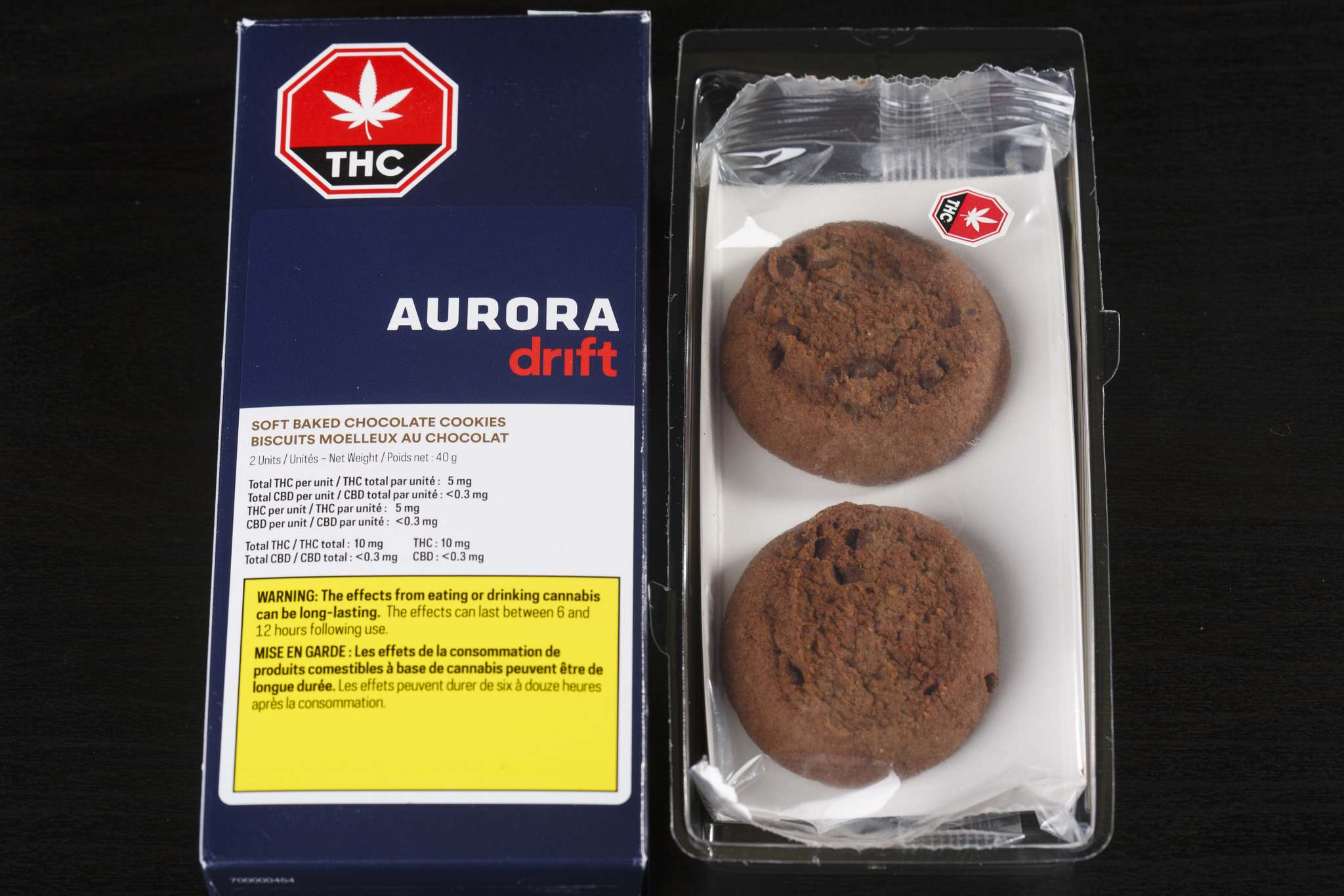 Aurora Drift soft baked chocolate cookies are available in Winnipeg. (Mike Deal / Winnipeg Free Press files)