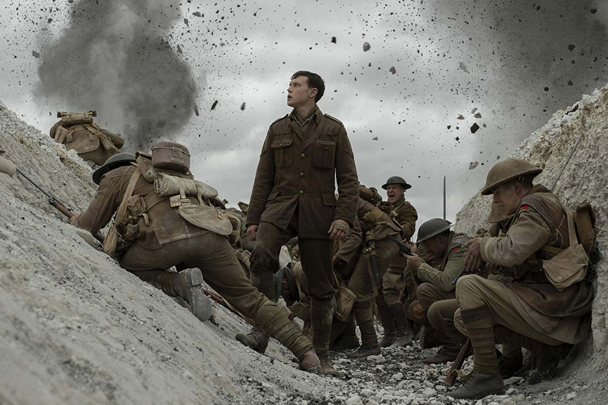 Imdb/TNS</p><p>George MacKay plays a soldier sent on a harrowing mission in 1917. </p>