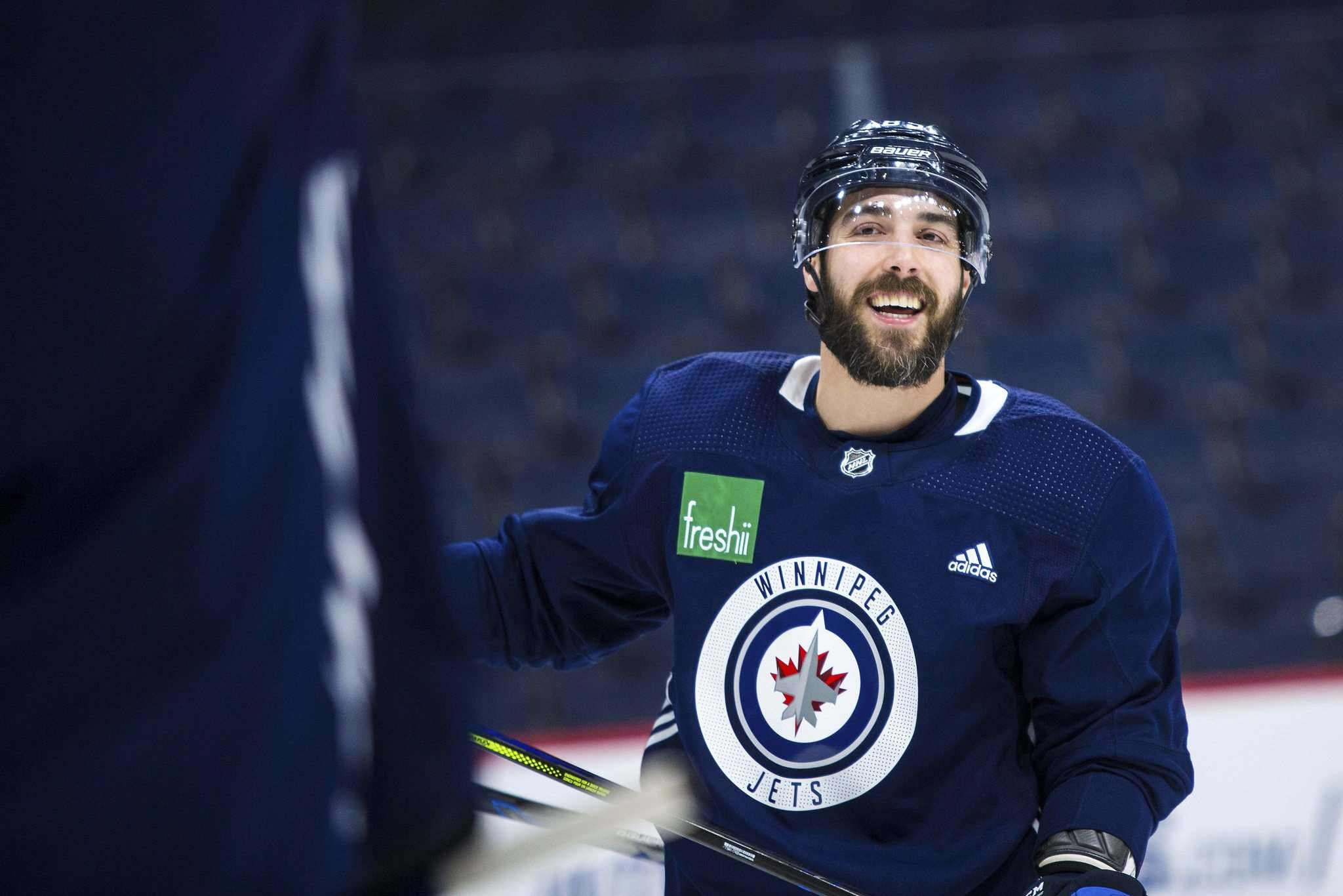 Mathieu Perreault said he had spoken to representatives of the league on the matter but hadn't changed his mind on the ruling. (Mikaela MacKenzie / Free Press files)</p></p>