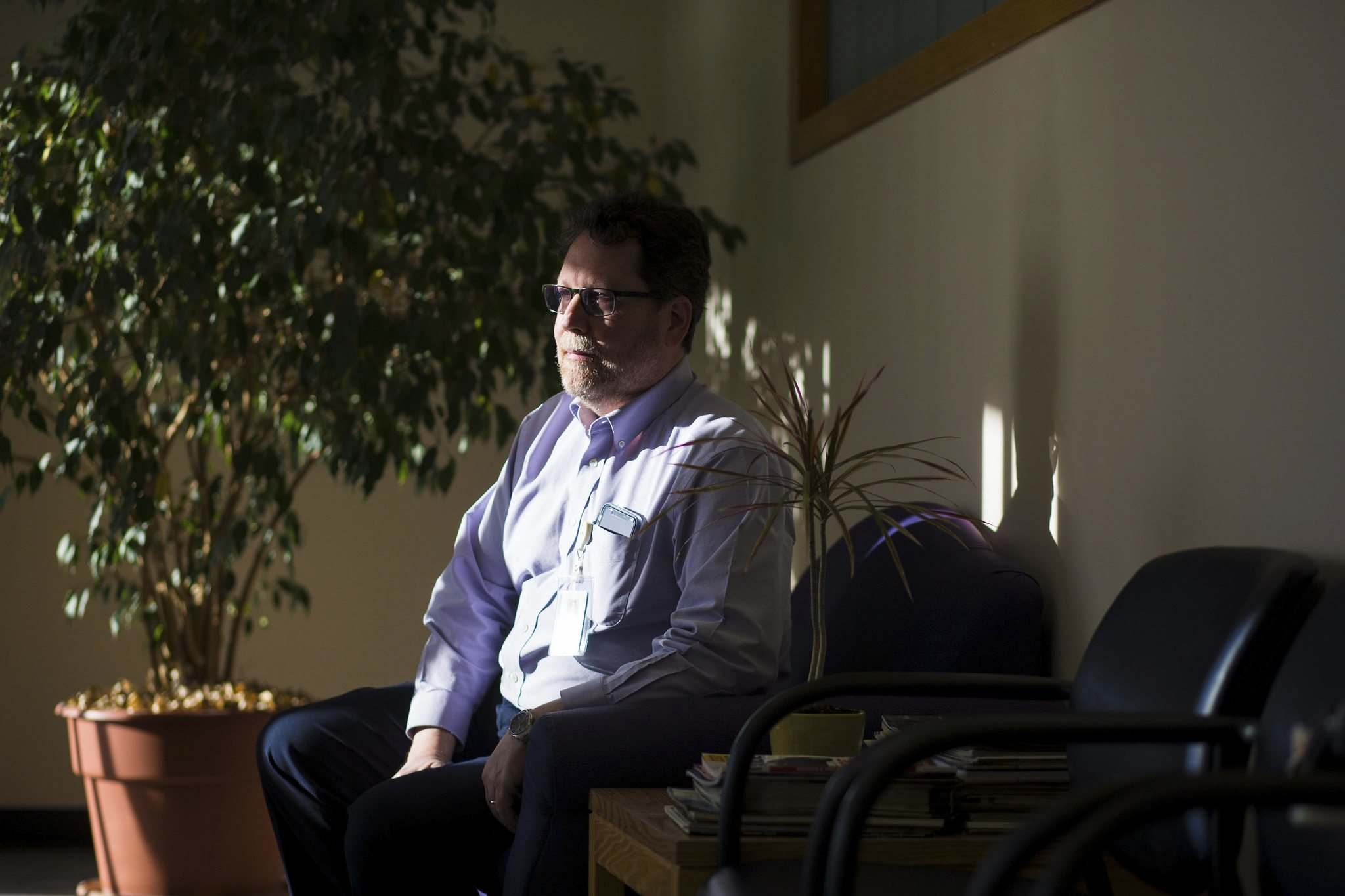 MIKAELA MACKENZIE / WINNIPEG FREE PRESS</p><p>Dr. David Strang says dementia 'can be a very scary diagnosis because it threatens your sense of identity.'</p>