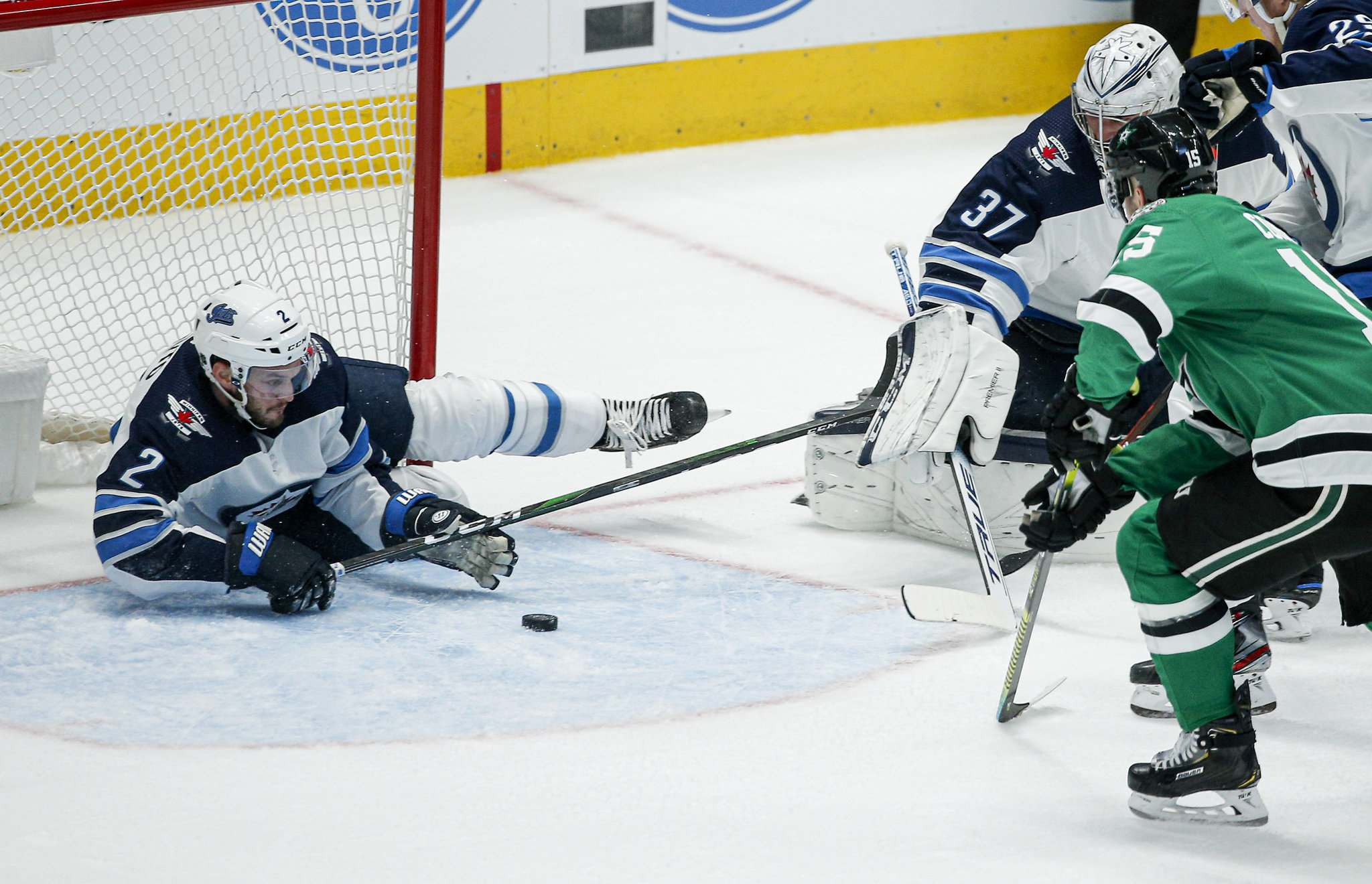 Anthony Bitetto is a depth player who concentrates on defending, blocking shots and transitioning the puck quickly to the forwards. (Brandon Wade / The Associated Press files)
