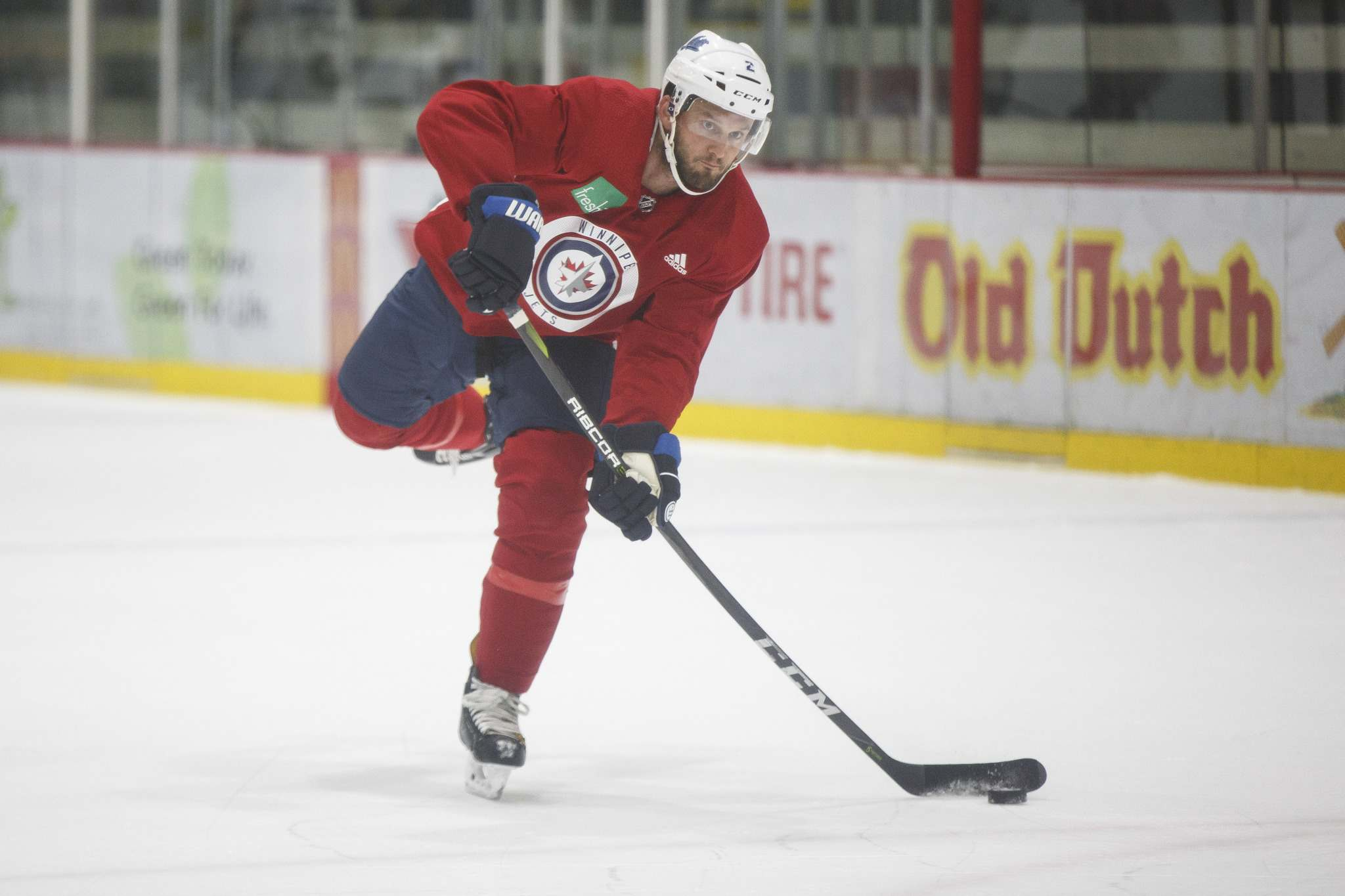 Bitetto has been recently been paired with Luca Sbisa on the Jets' top penalty-killing unit. (Mike Deal / Winnipeg Free Press files)